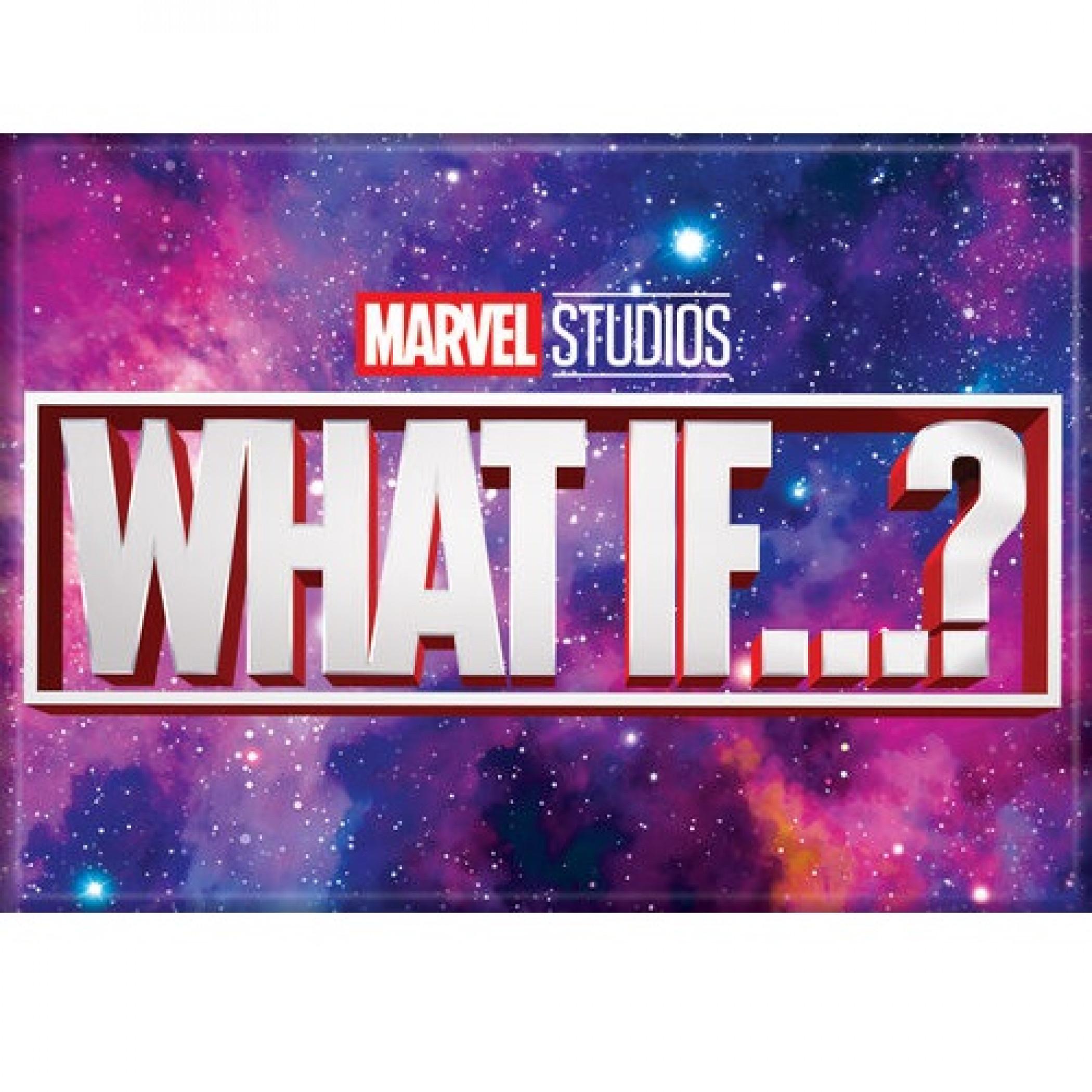 Marvel Studios What If...? Series Galaxy Logo Magnet