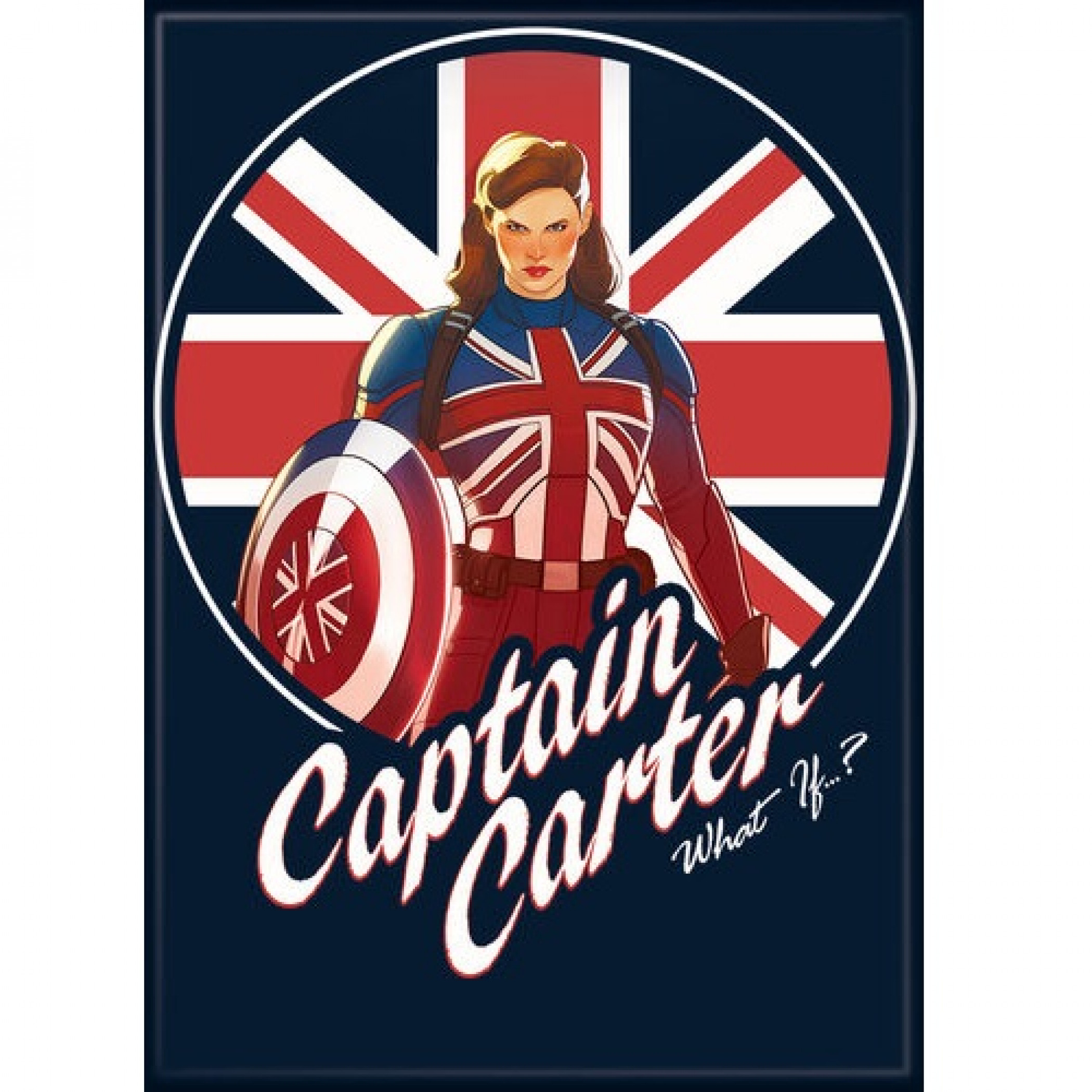 Marvel Studios What If...? Series Captain Carter Character Magnet