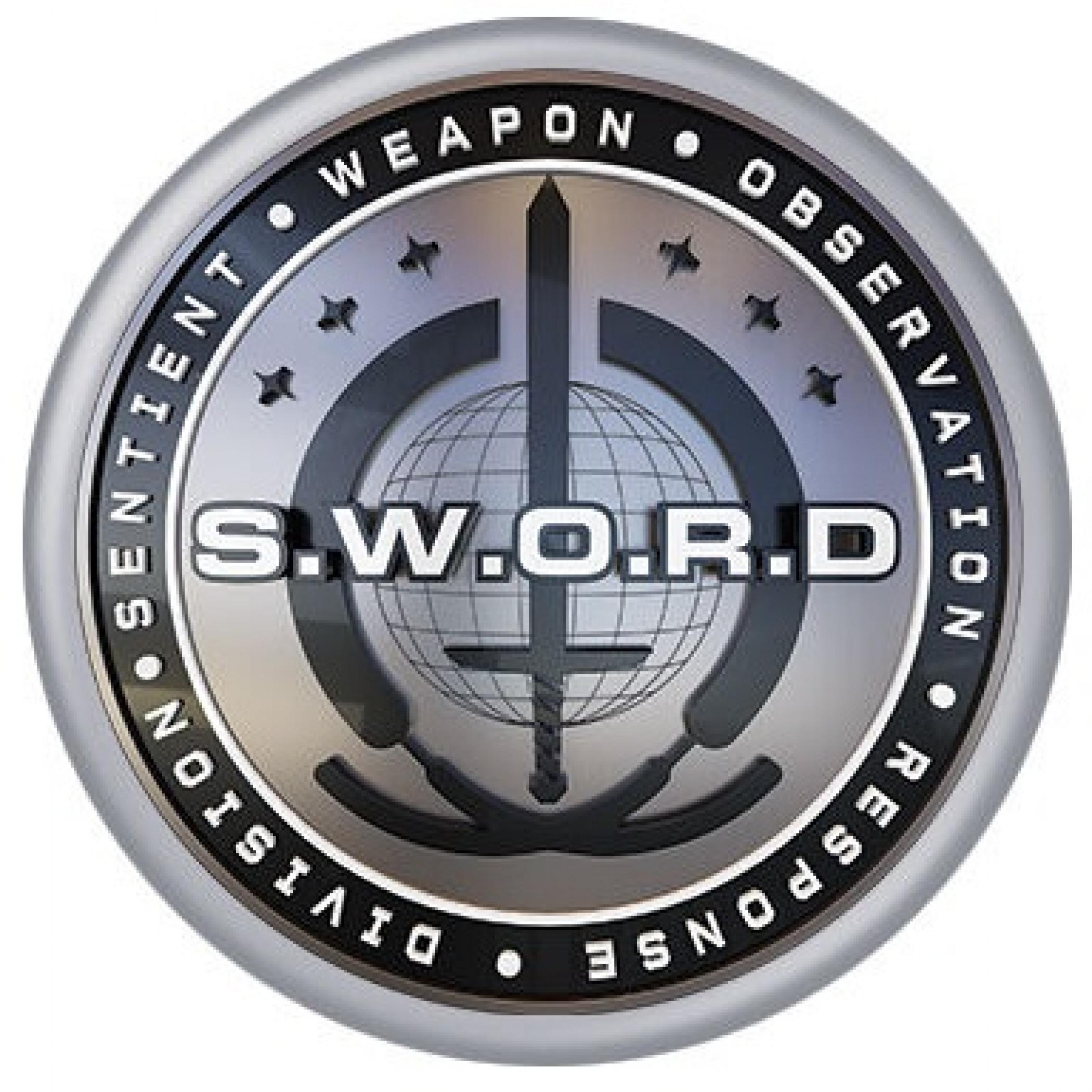 WandaVision S.W.O.R.D. Symbol Button