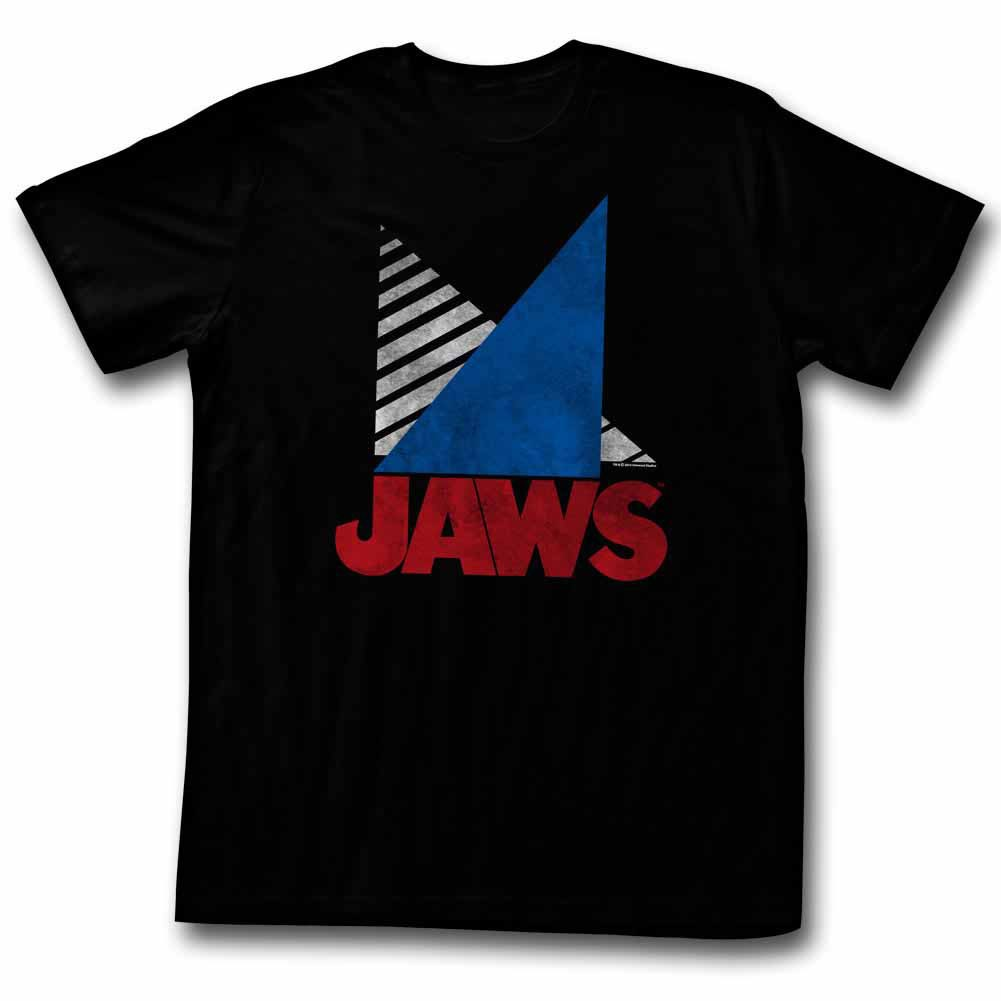 Jaws Tri Black T-Shirt