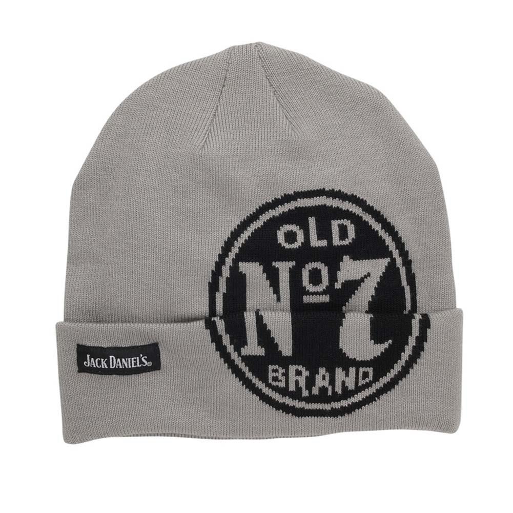 Jack Daniels Old No. 7 Grey Beanie