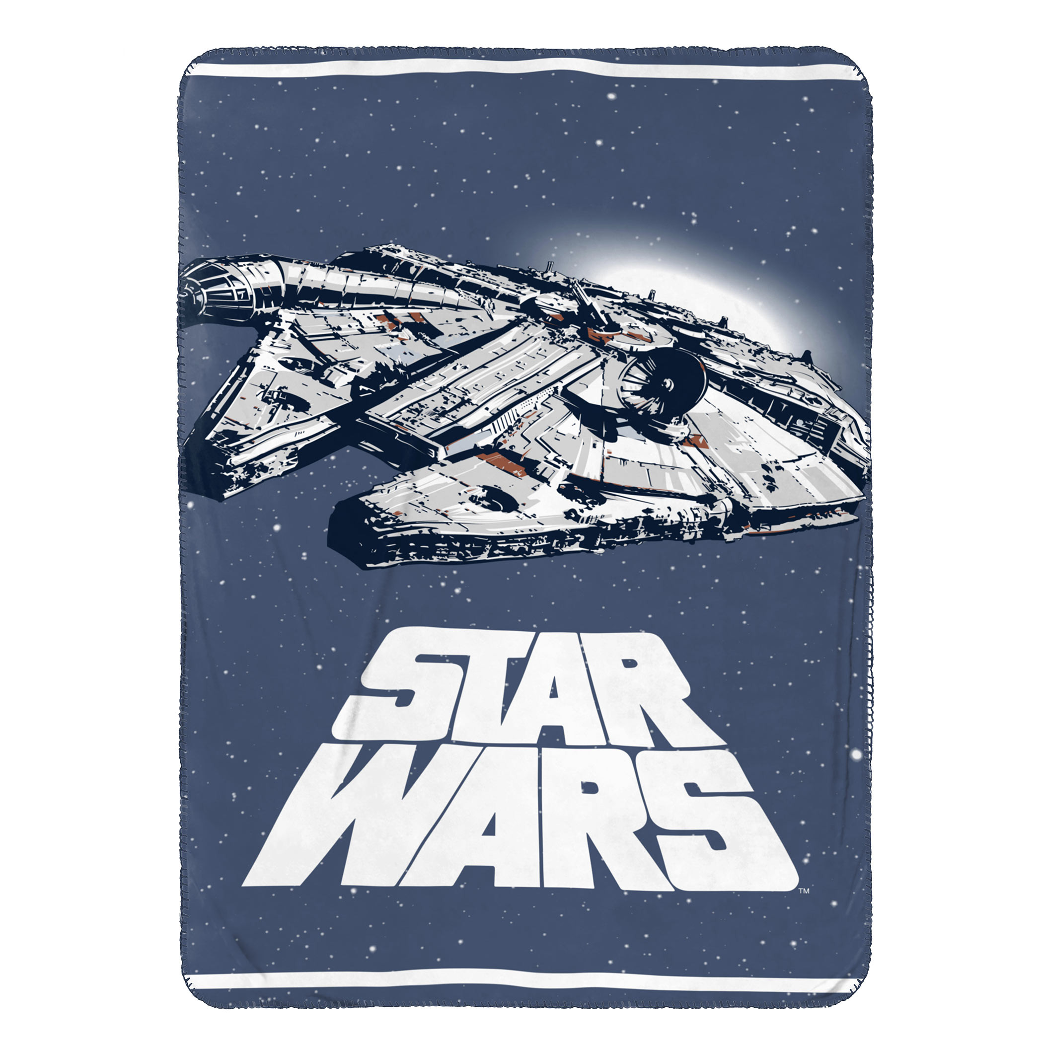 Star Wars Millennium Falcon Throw Blanket