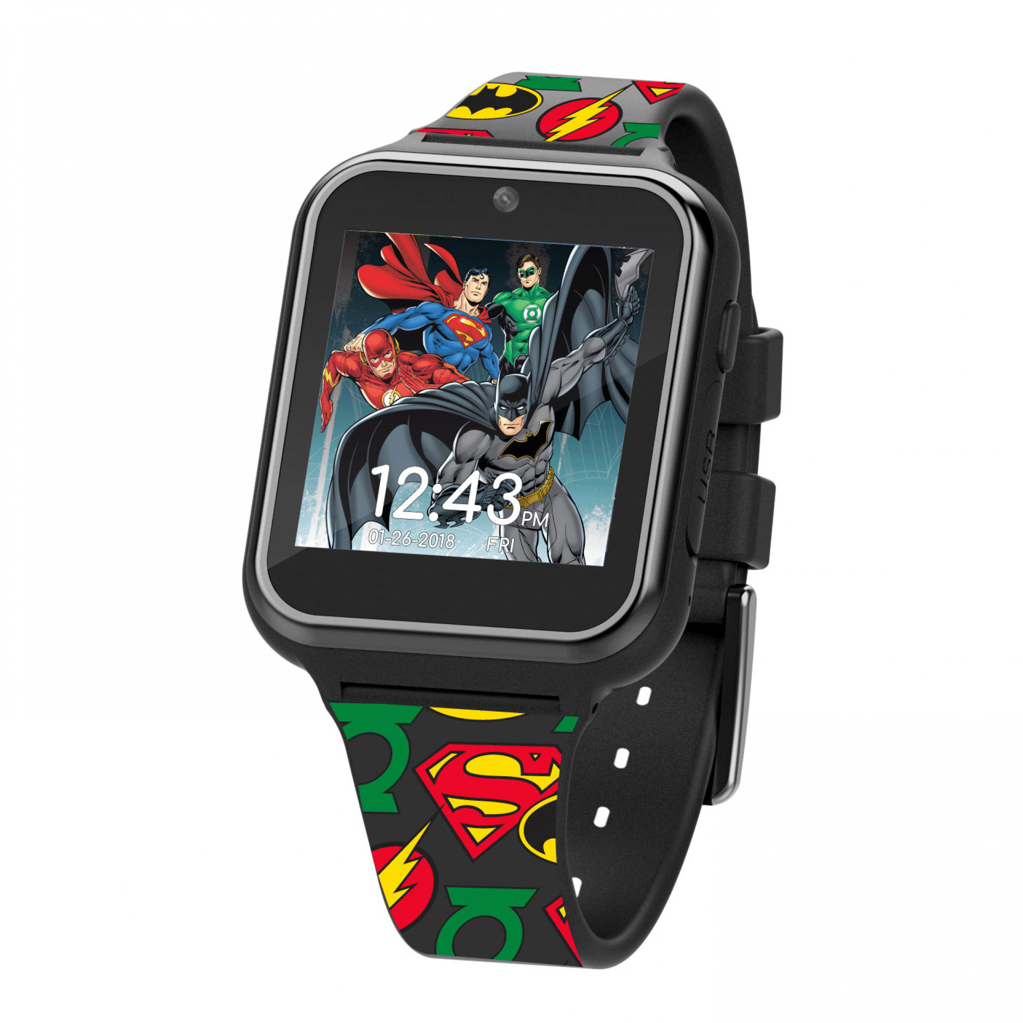 Justice League Accutime Interactive Kids Watch