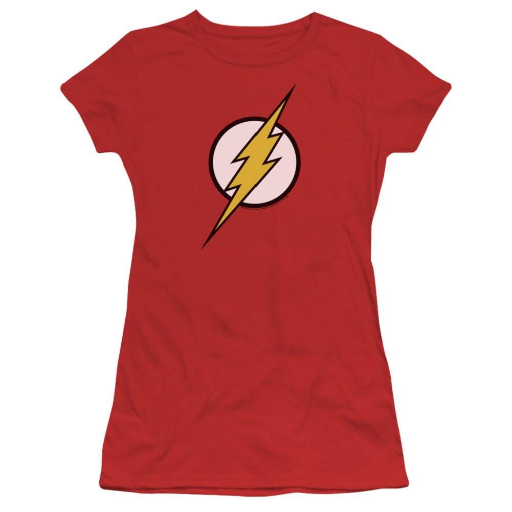The Flash Classic Logo Women's Red T-Shirt