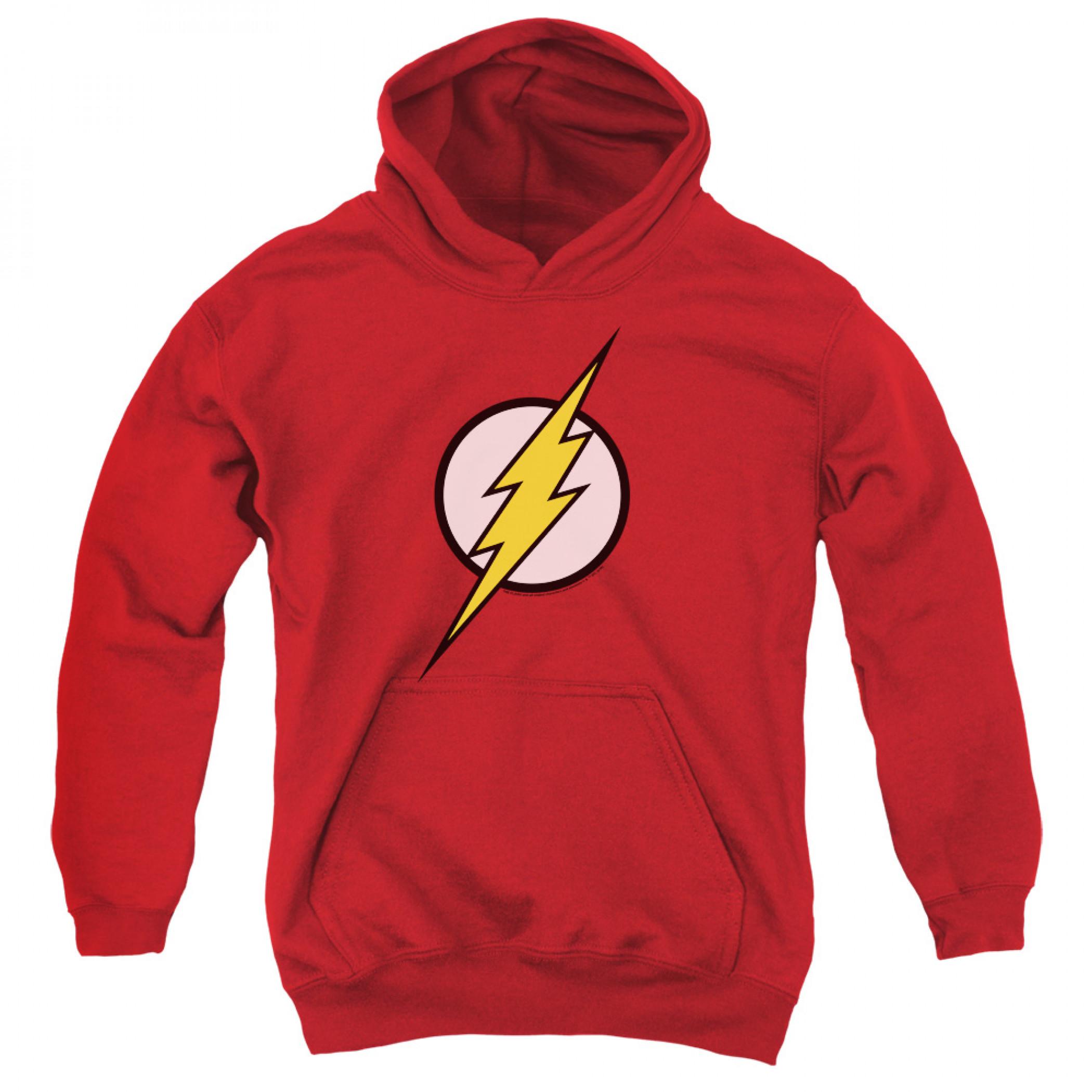 Flash Classic Logo Youth  Hoodie