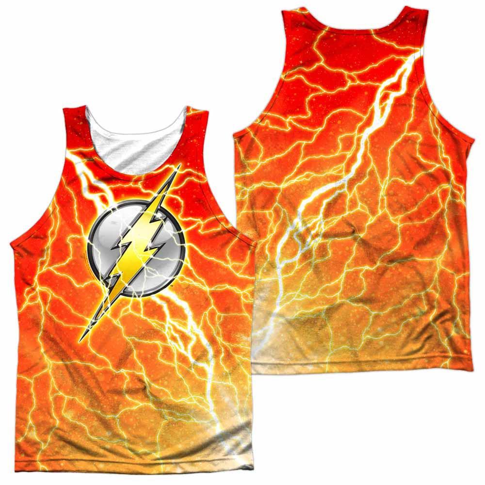 The Flash Lightning Logo Sublimation Tank Top