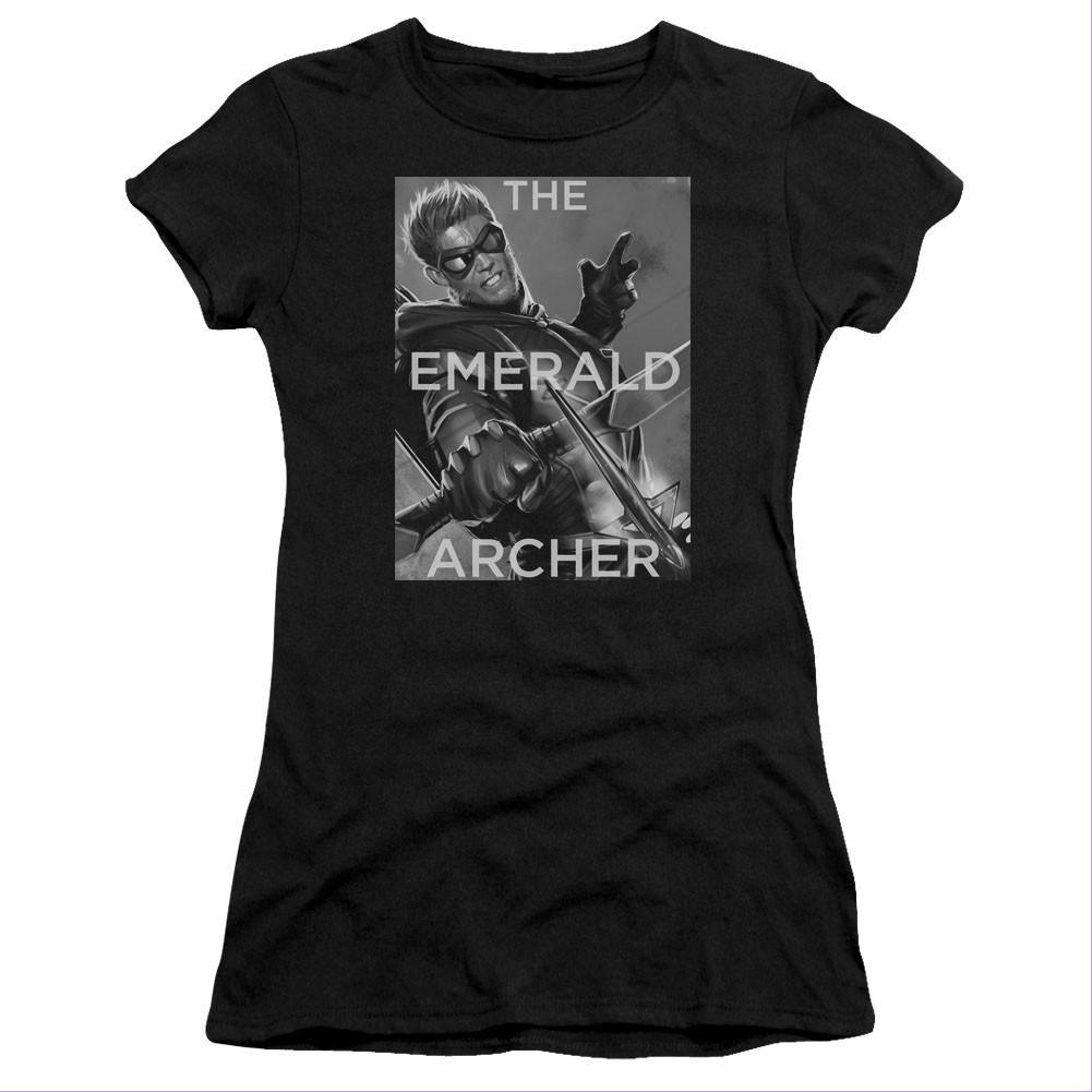 Green Arrow The Emerald Archer Youth T-shirt