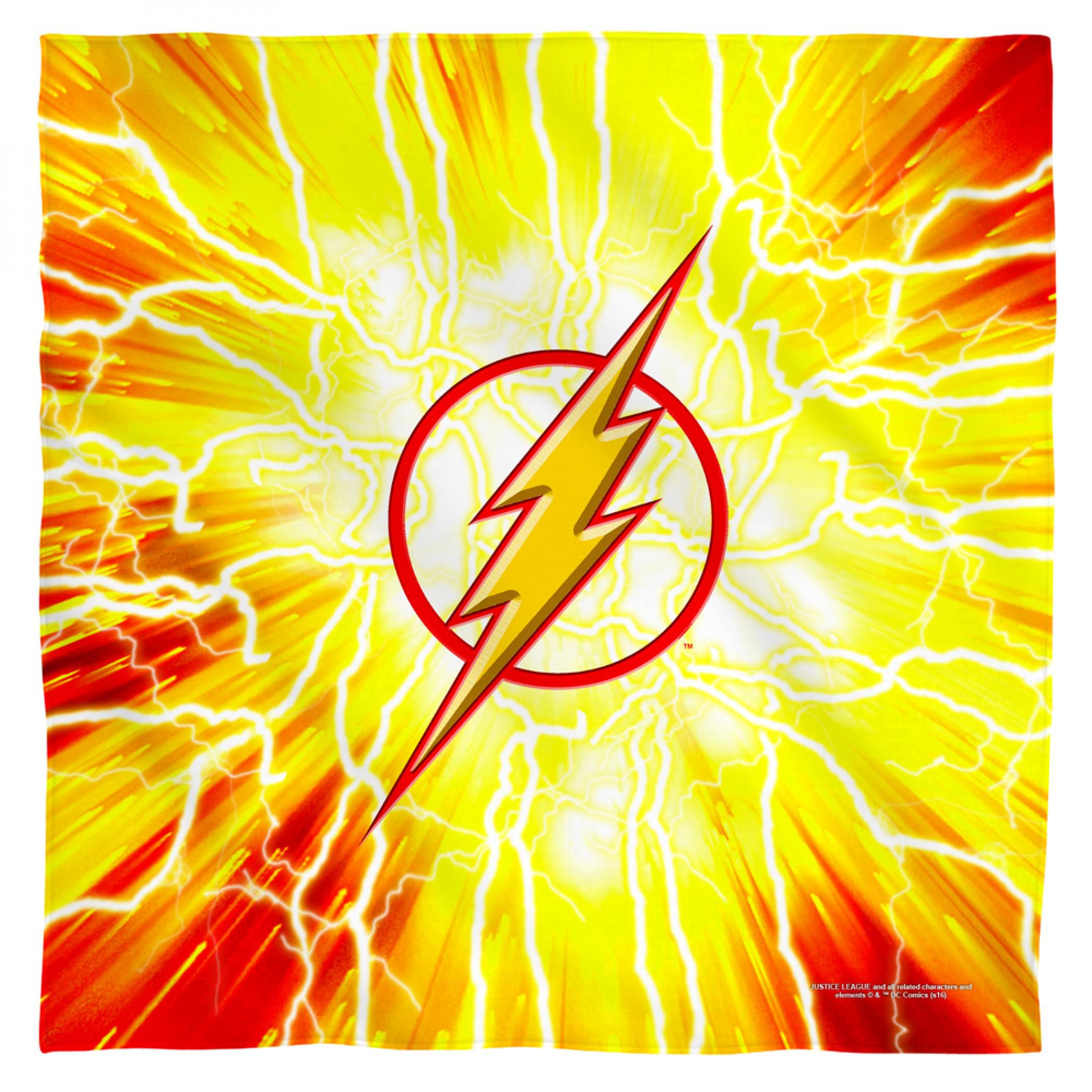 The Flash Logo Bandana
