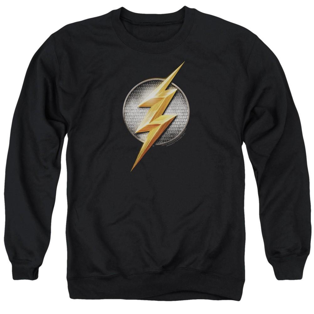 Flash Logo Justice League Crewneck Sweatshirt