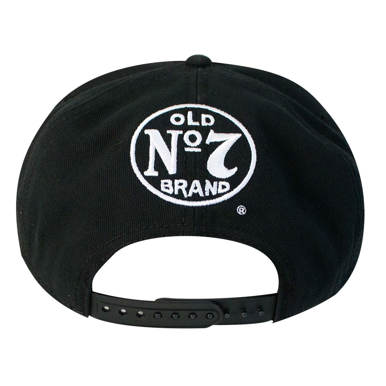 Jack Daniels Black Old No. 7 Snapback Hat