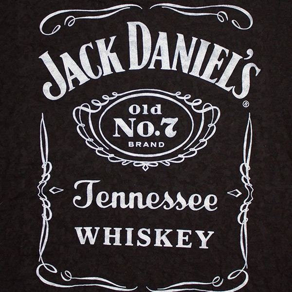 Jack Daniel's Burnout Junior Women's Shirt - Black