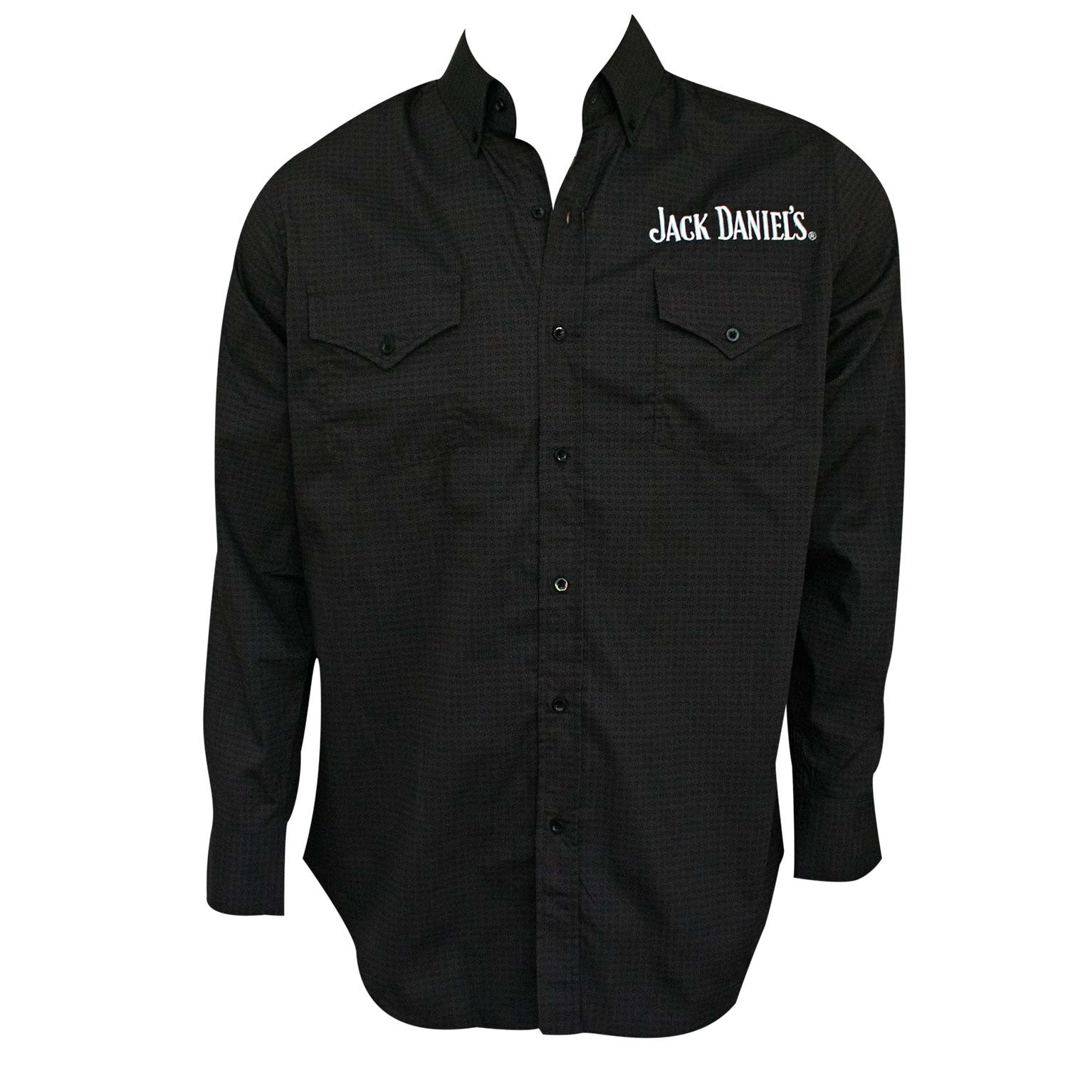 Jack Daniels Long Sleeve Button Up Paisley Shirt