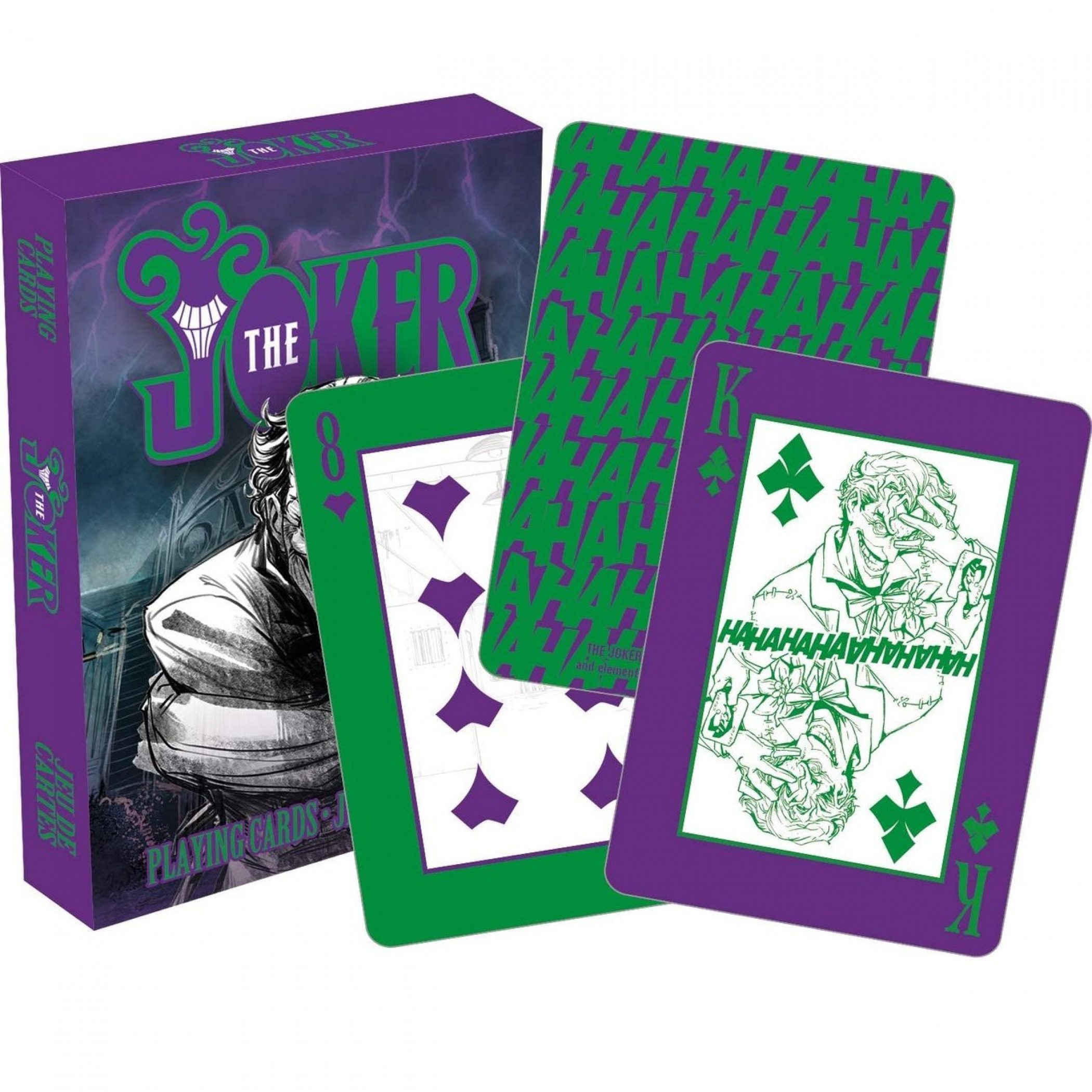 DC Comics Joker HaHaHa's Playing Cards