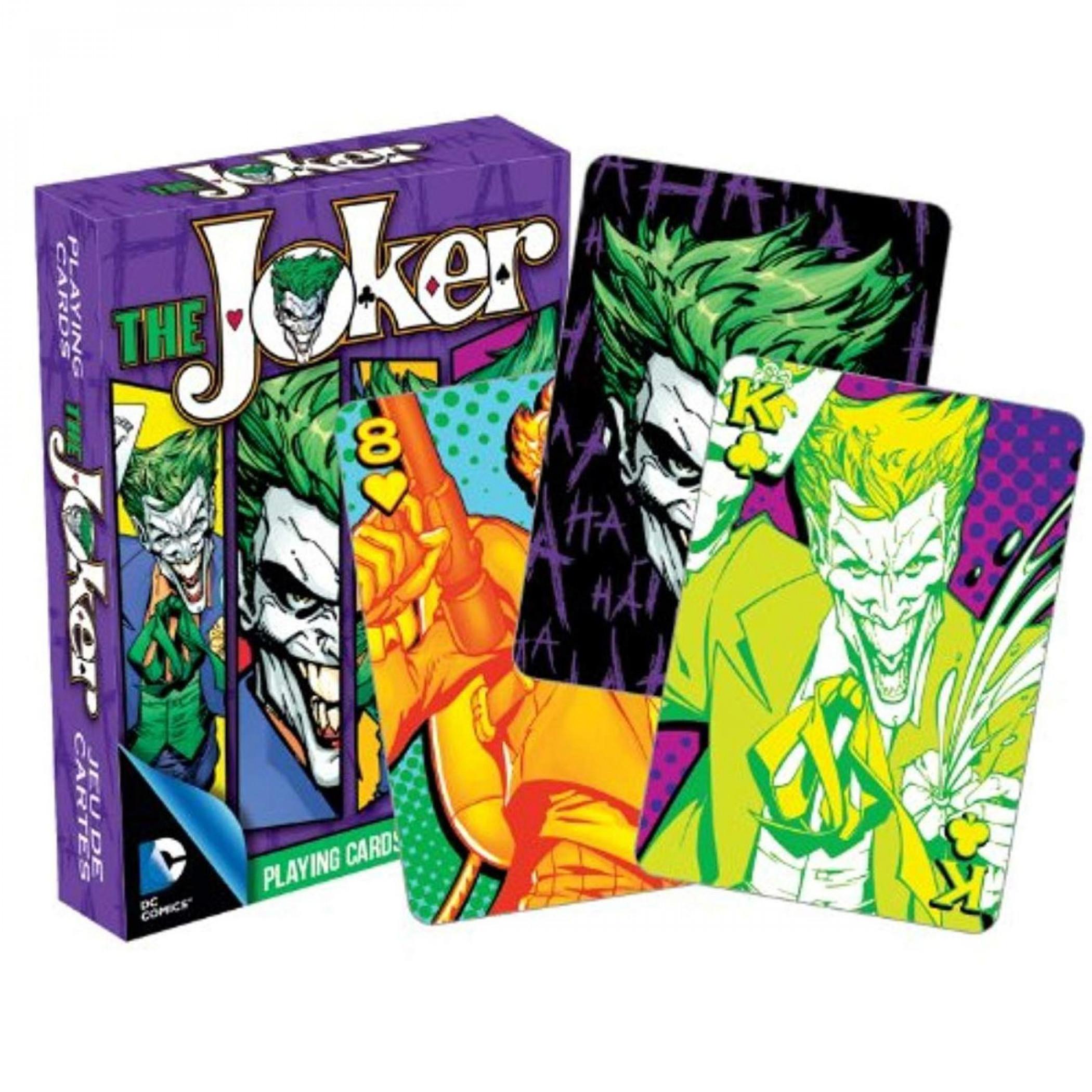 DC Comics The Joker Playing Cards