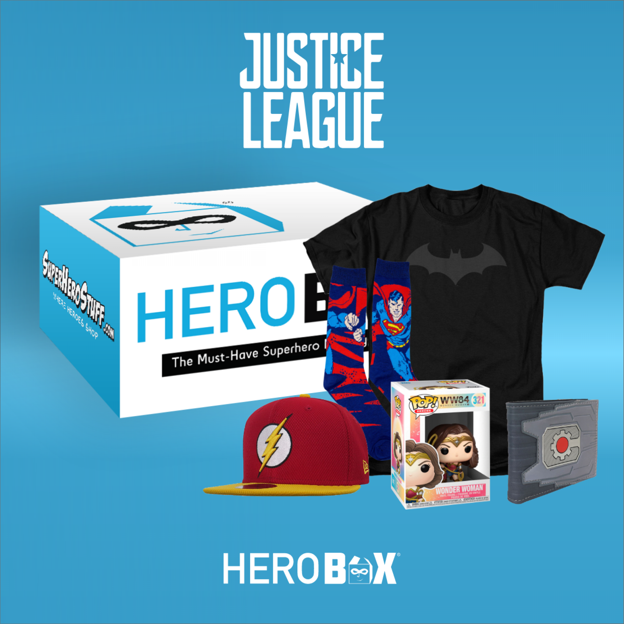 Justice League Classic HeroBox