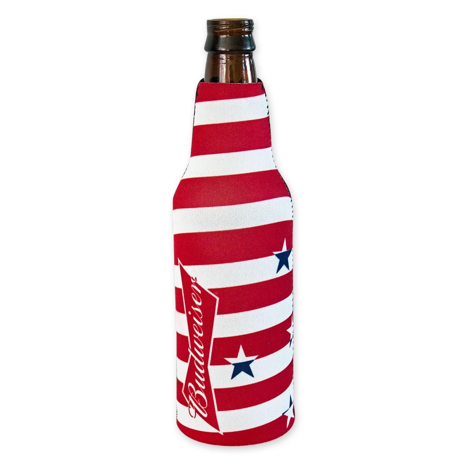 Budweiser Stars And Stripes Bottle Cooler