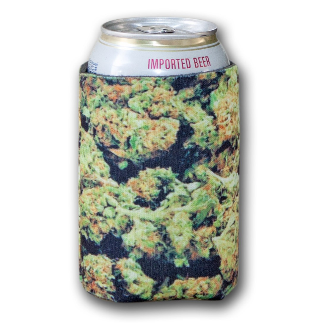 Weed Bud Can Cooler