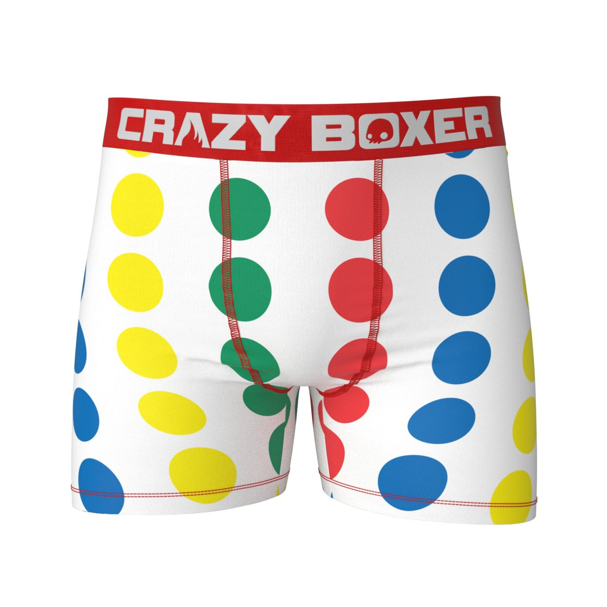 Twister Game Men's Boxer Briefs Shorts