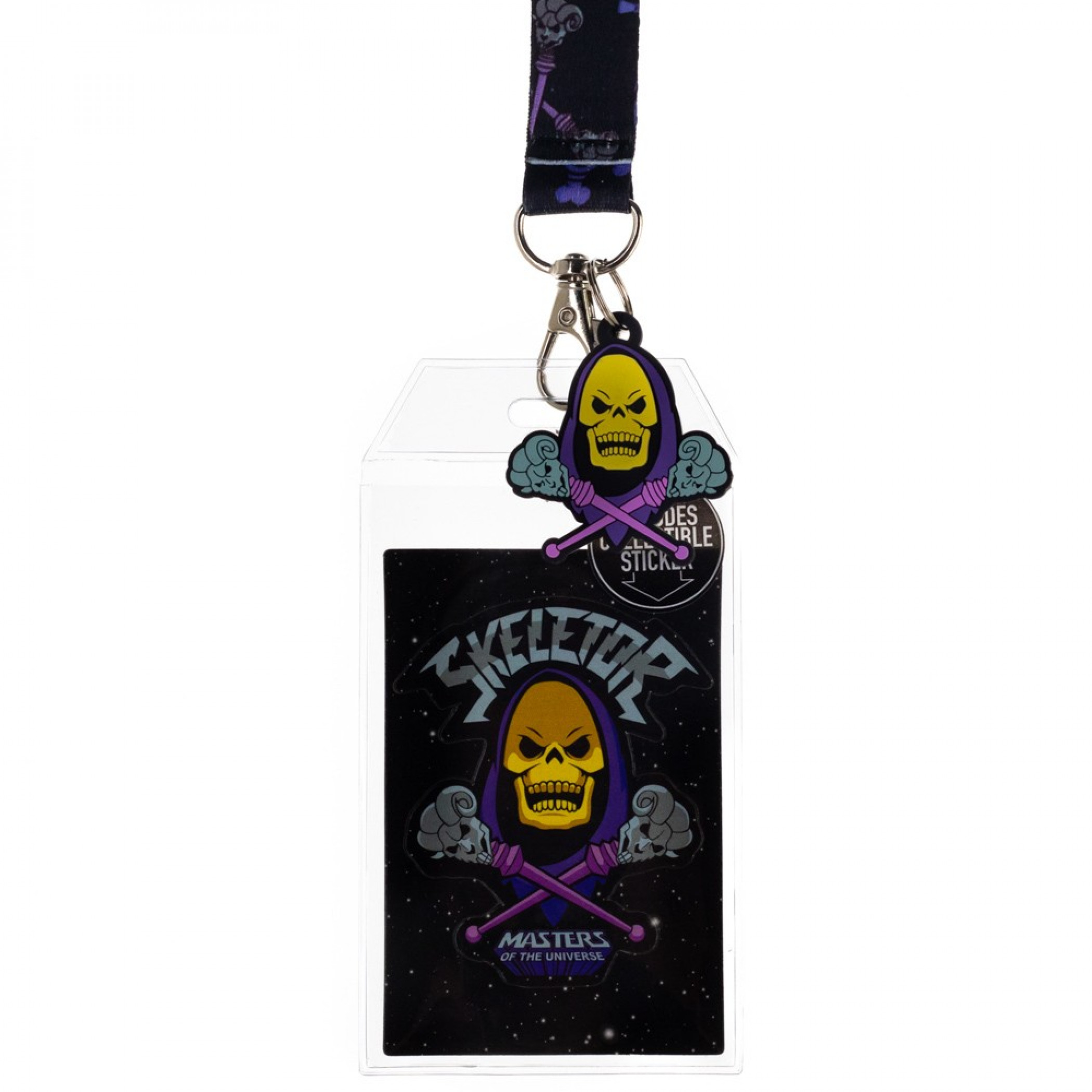 Masters of the Universe Skeletor Lanyard With Sleeve