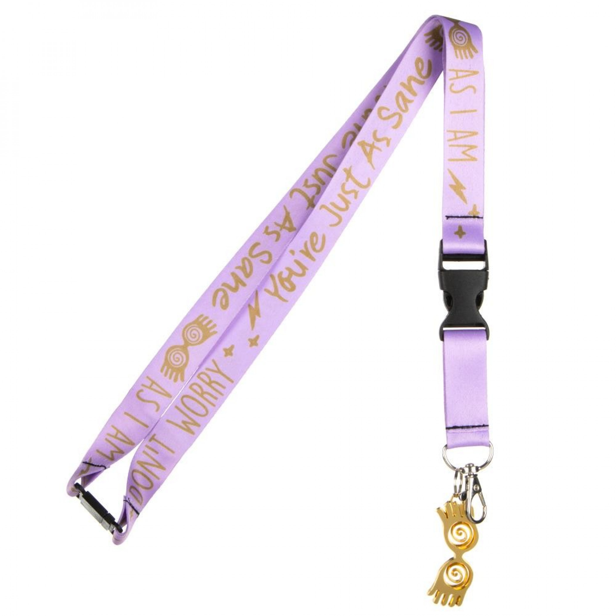 Harry Potter Luna Lovegood Taping Lanyard