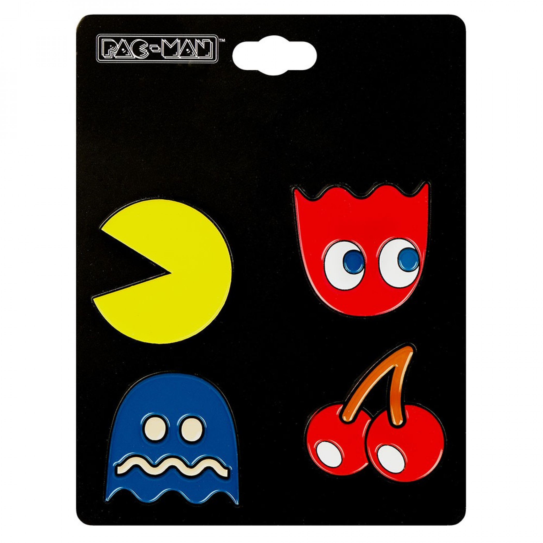 Pac-Man 4-Pack of Collectible Lapel Pins