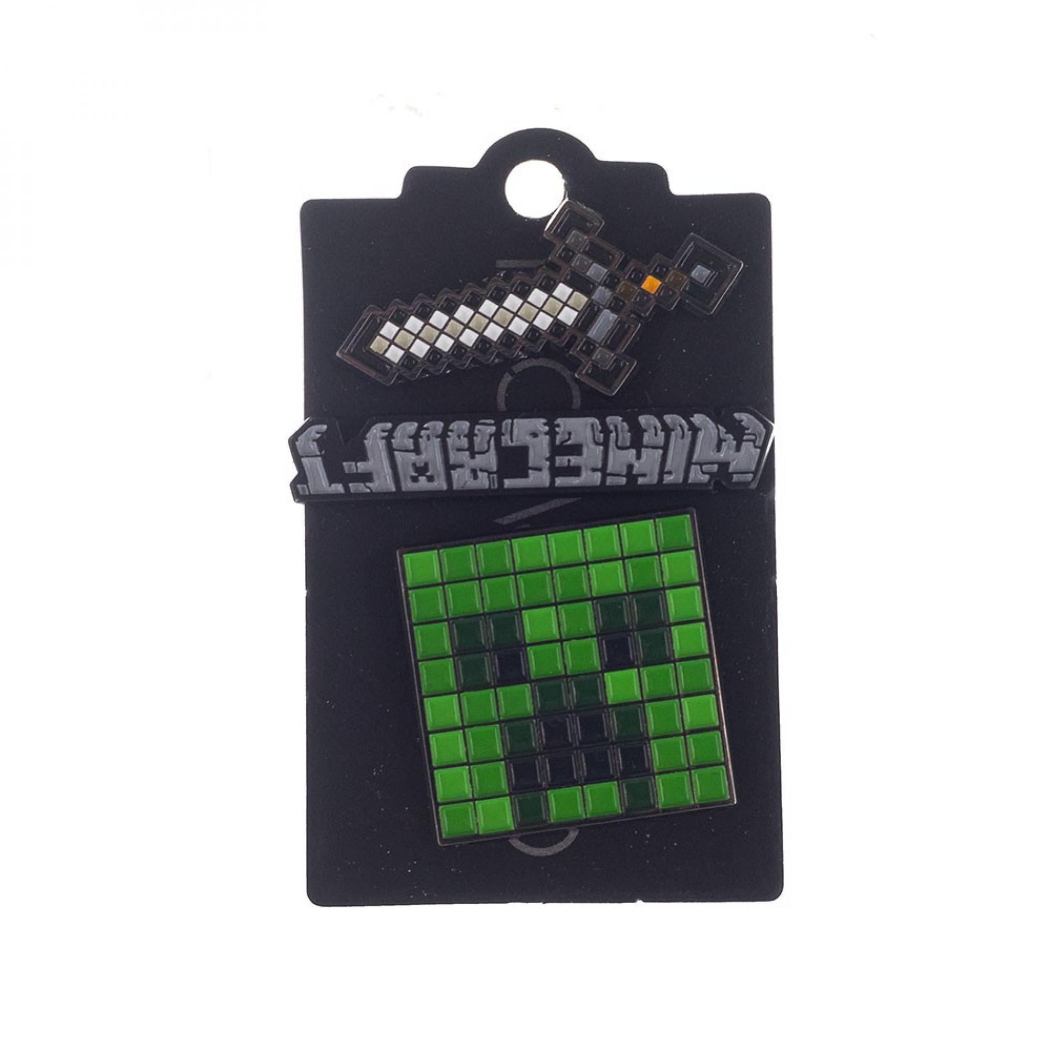 Minecraft Lapel Pins 3-Pack Set