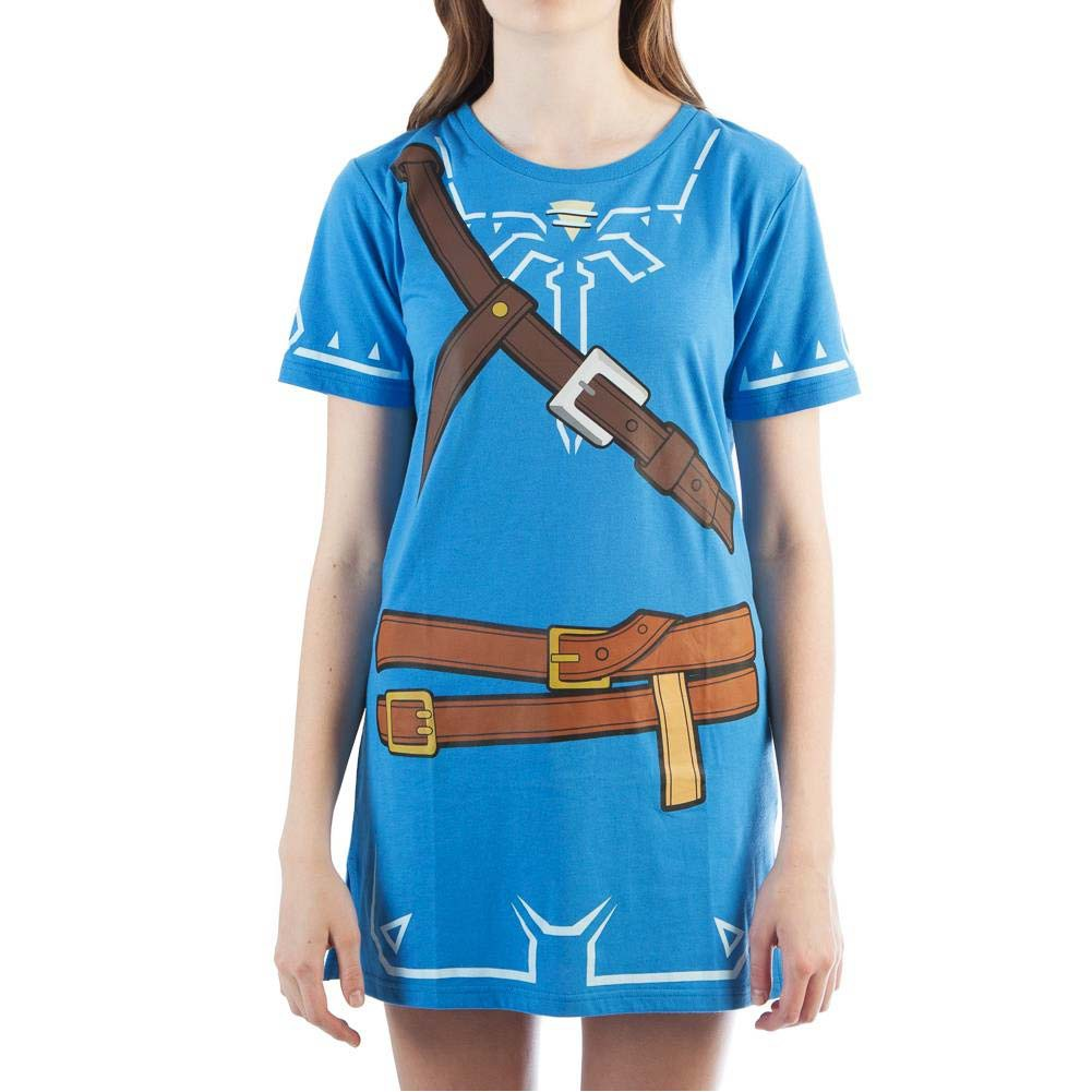 The Legend Of Zelda Women S Blue Breath Of The Wild Tunic