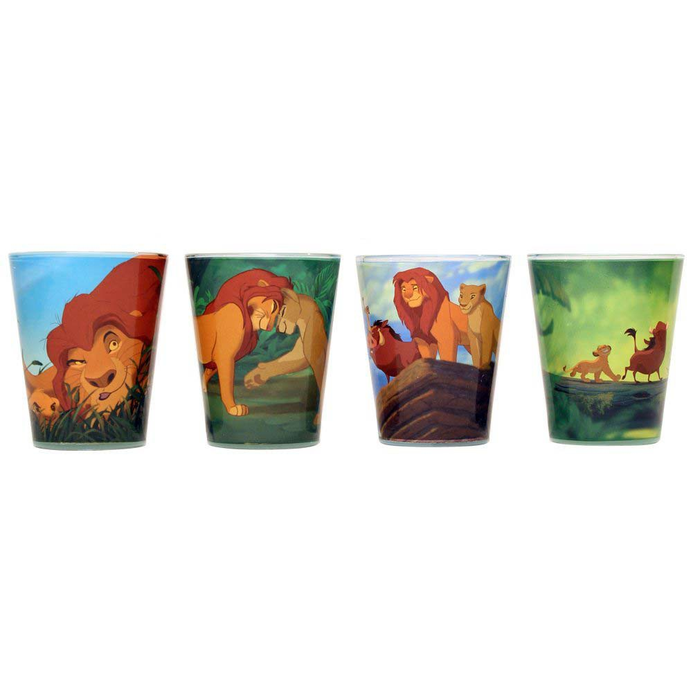 Disney Lion King 4 PC Shot Glass Set