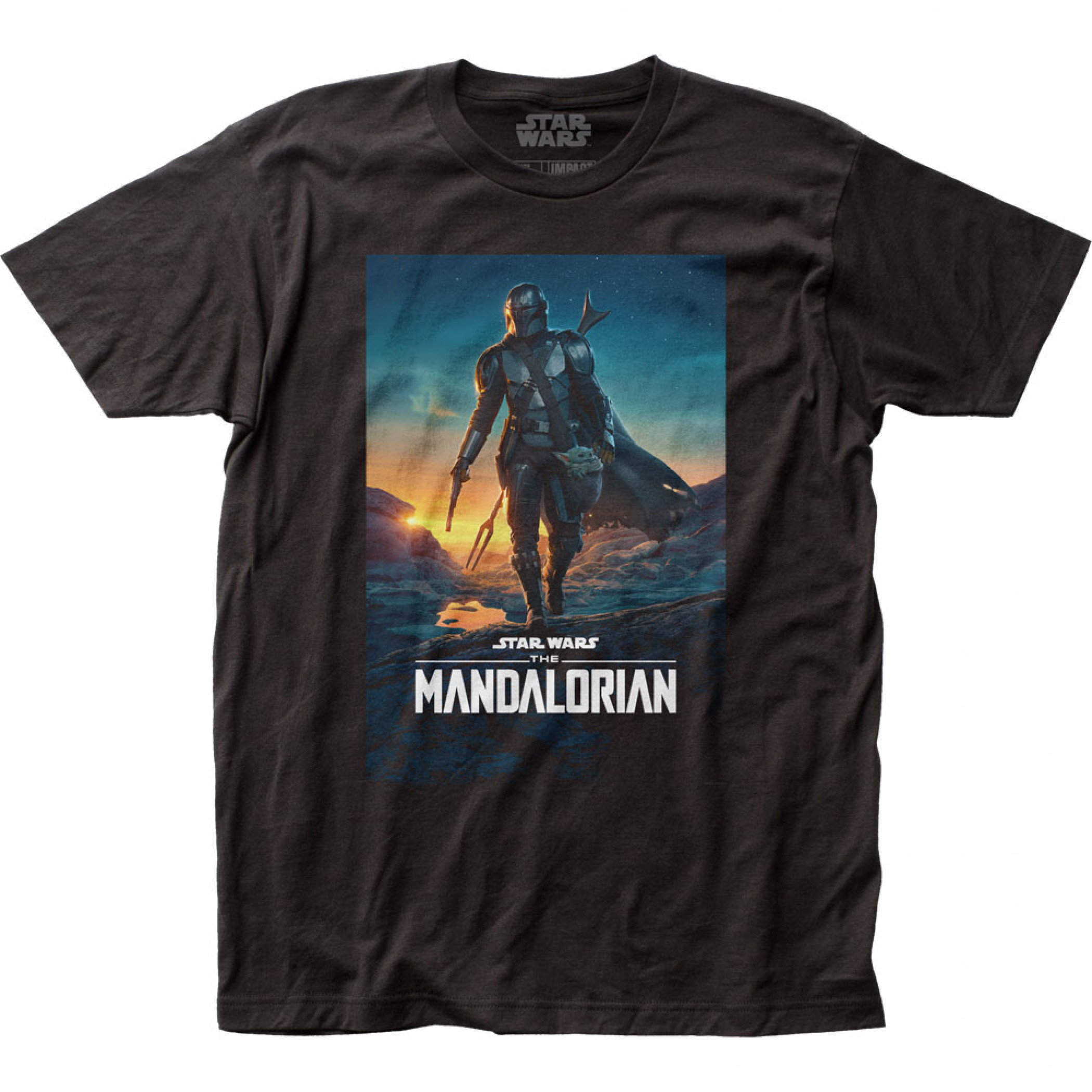 Star Wars The Mandalorian Season 2 Poster T-Shirt