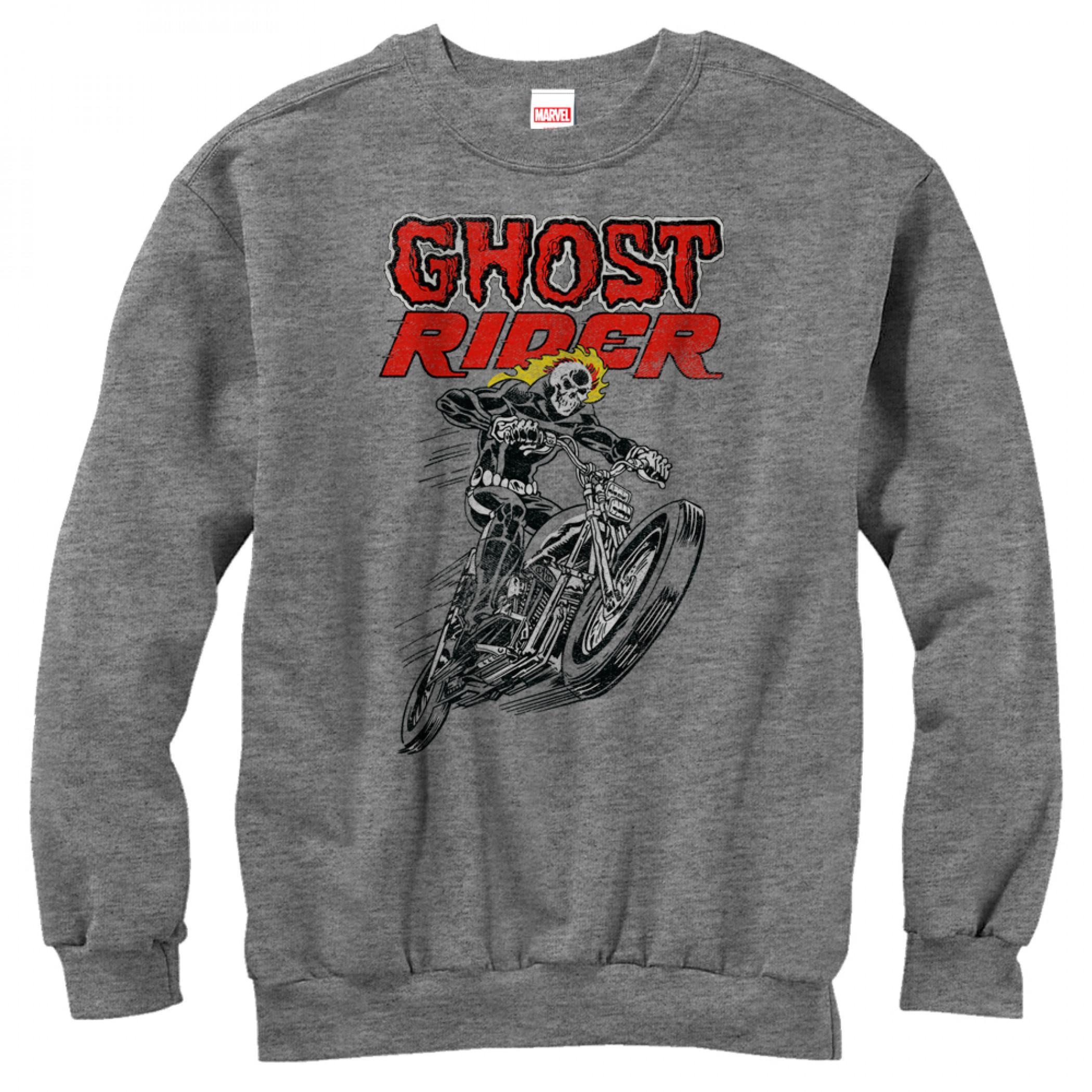 Ghost Rider Crewneck Sweatshirt