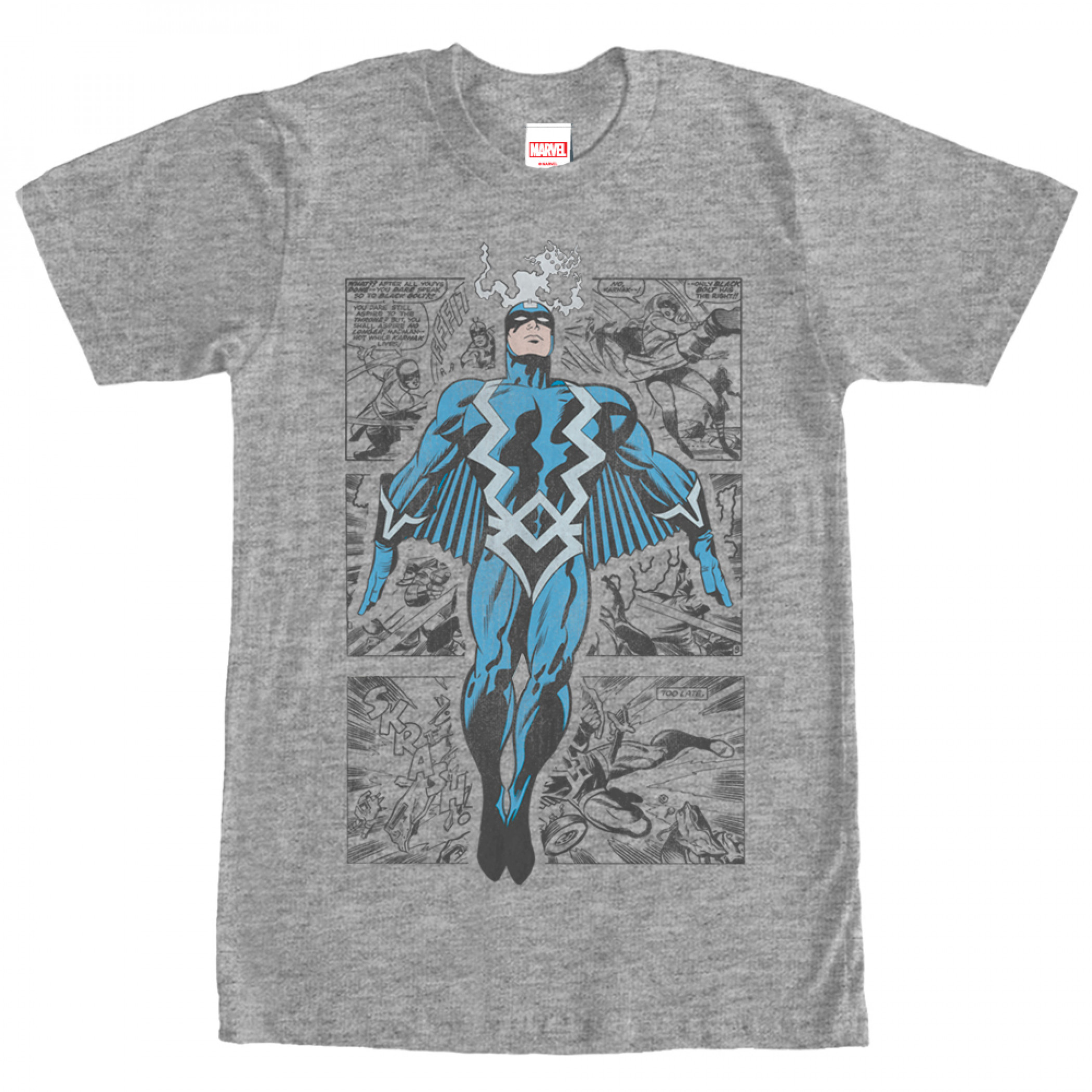 Black Bolt Inhumans T-Shirt