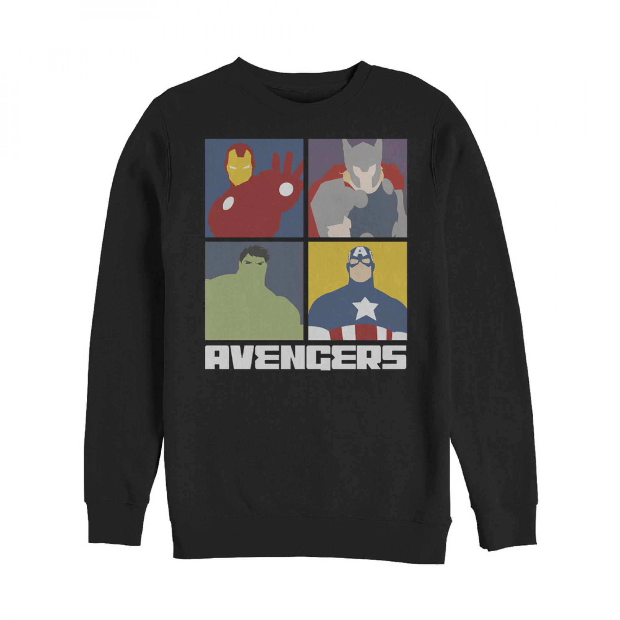 Marvel Avengers Assemble Color Block Sweatshirt