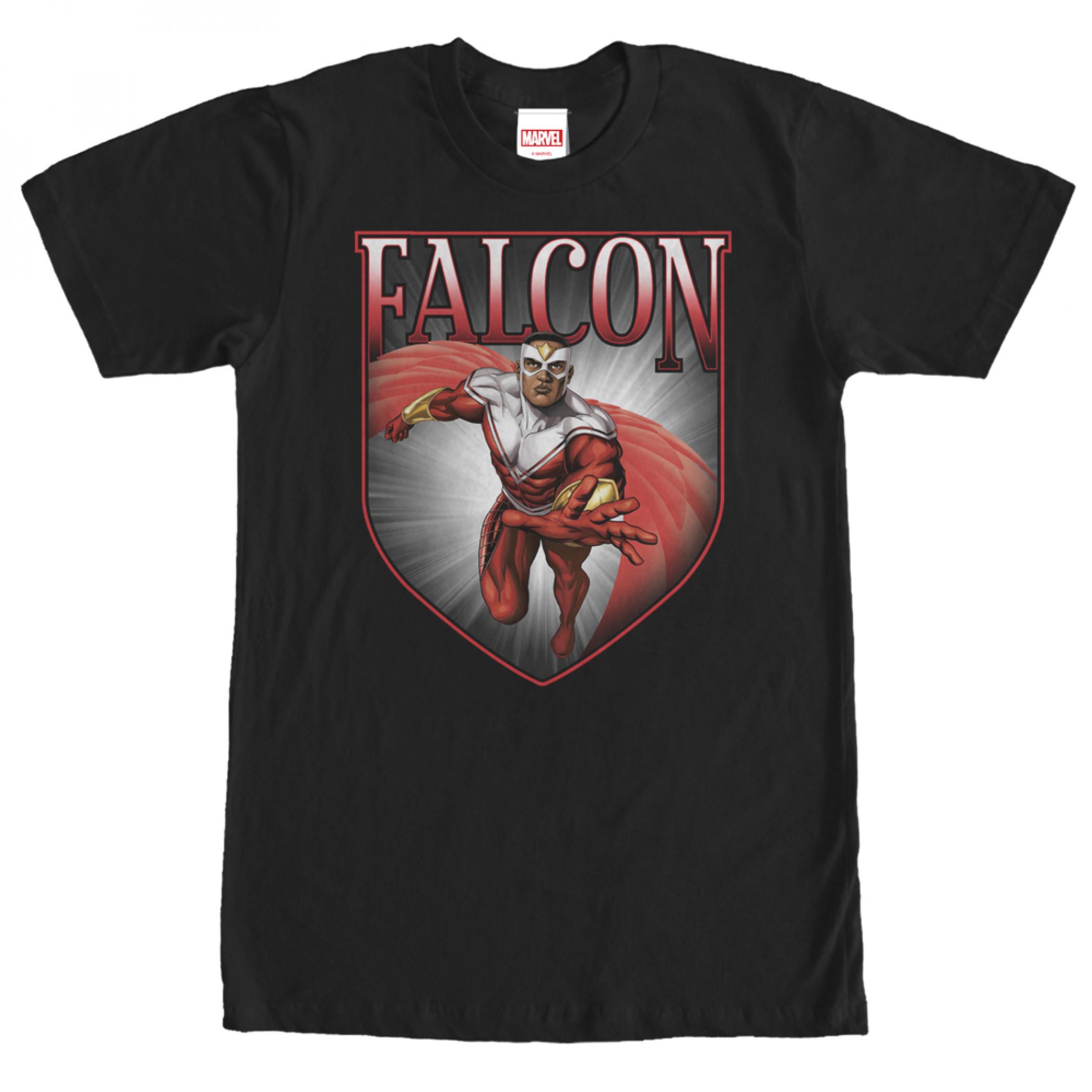 Marvel's Falcon Shield T-Shirt