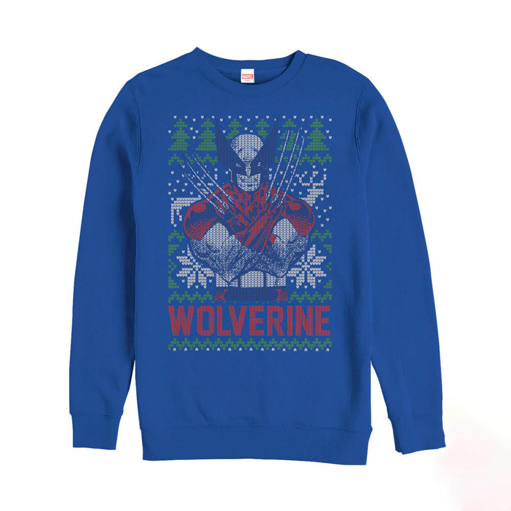 Wolverine Ugly Christmas Sweatshirt