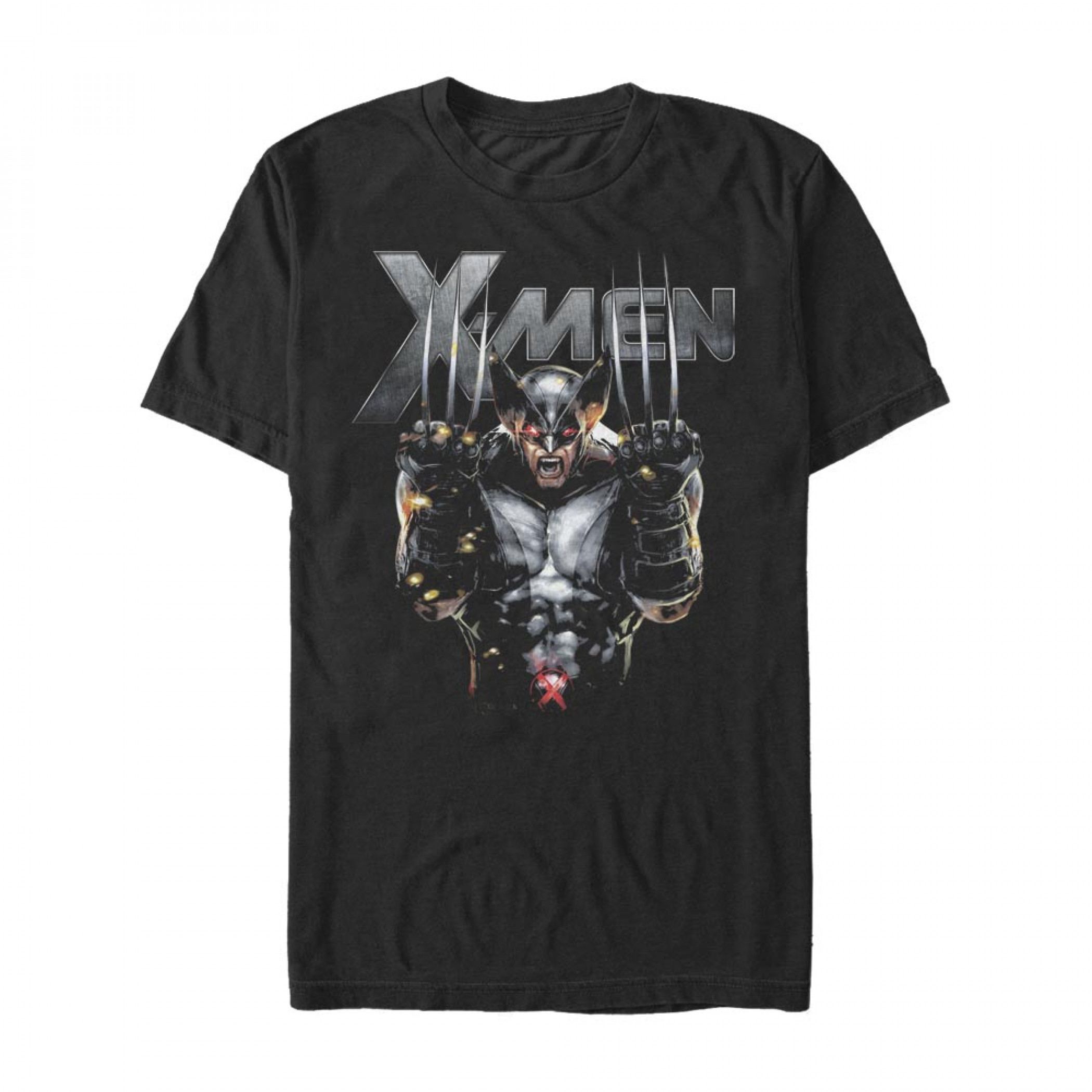 X-Men Metal Wolverine T-Shirt