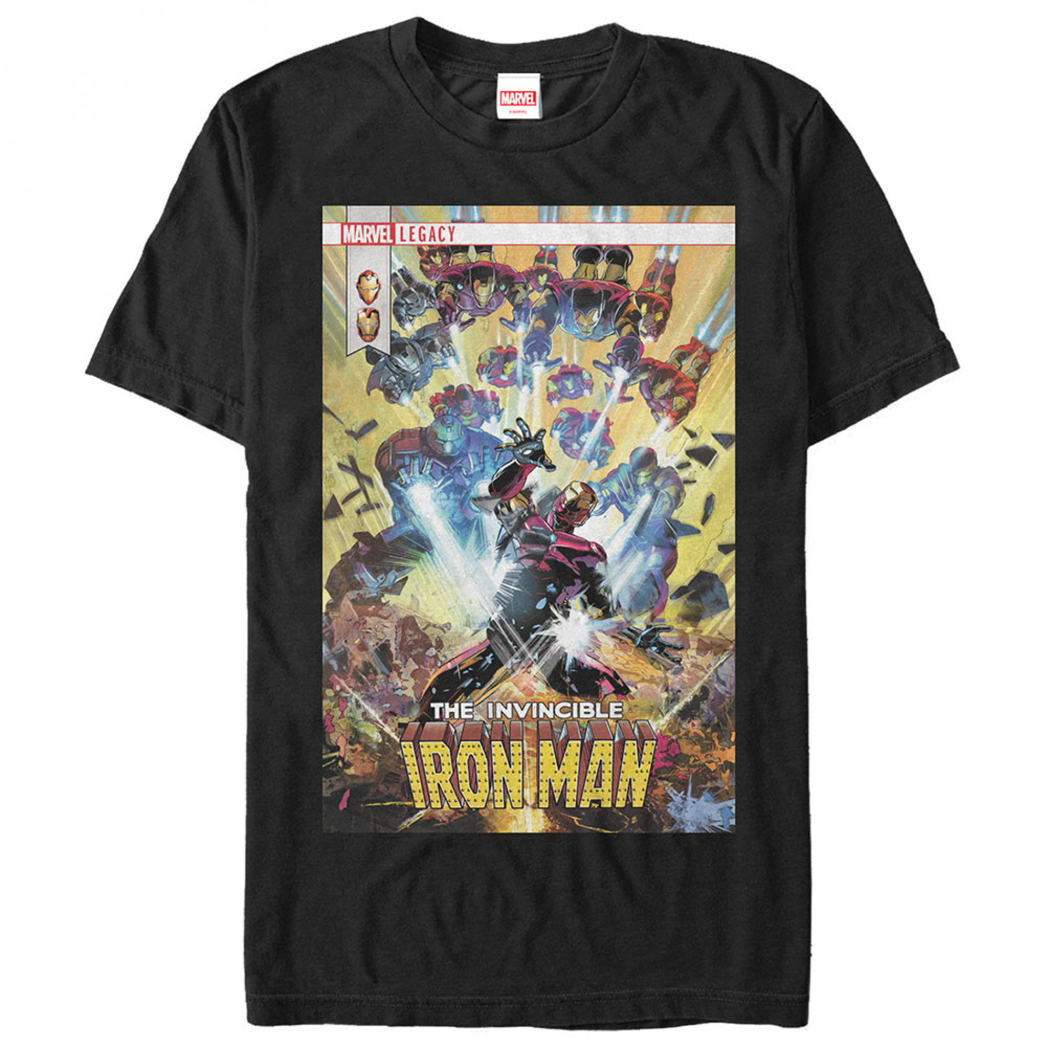 The Invincible Iron Man #596 Comic Cover T-Shirt