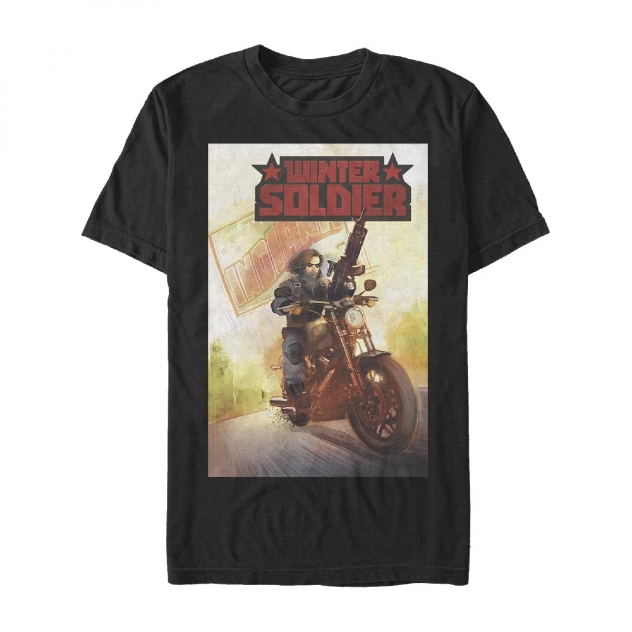 Winter Soldier #1 Comic Cover T-Shirt
