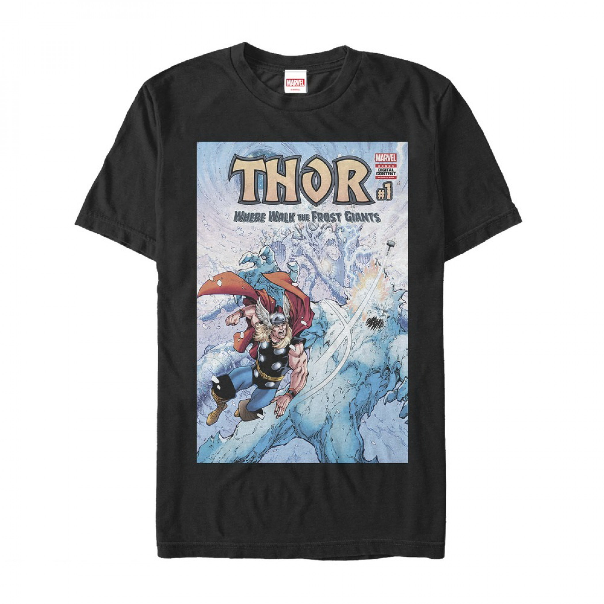 Thor Where Walk the Frost Giants #1 T-Shirt