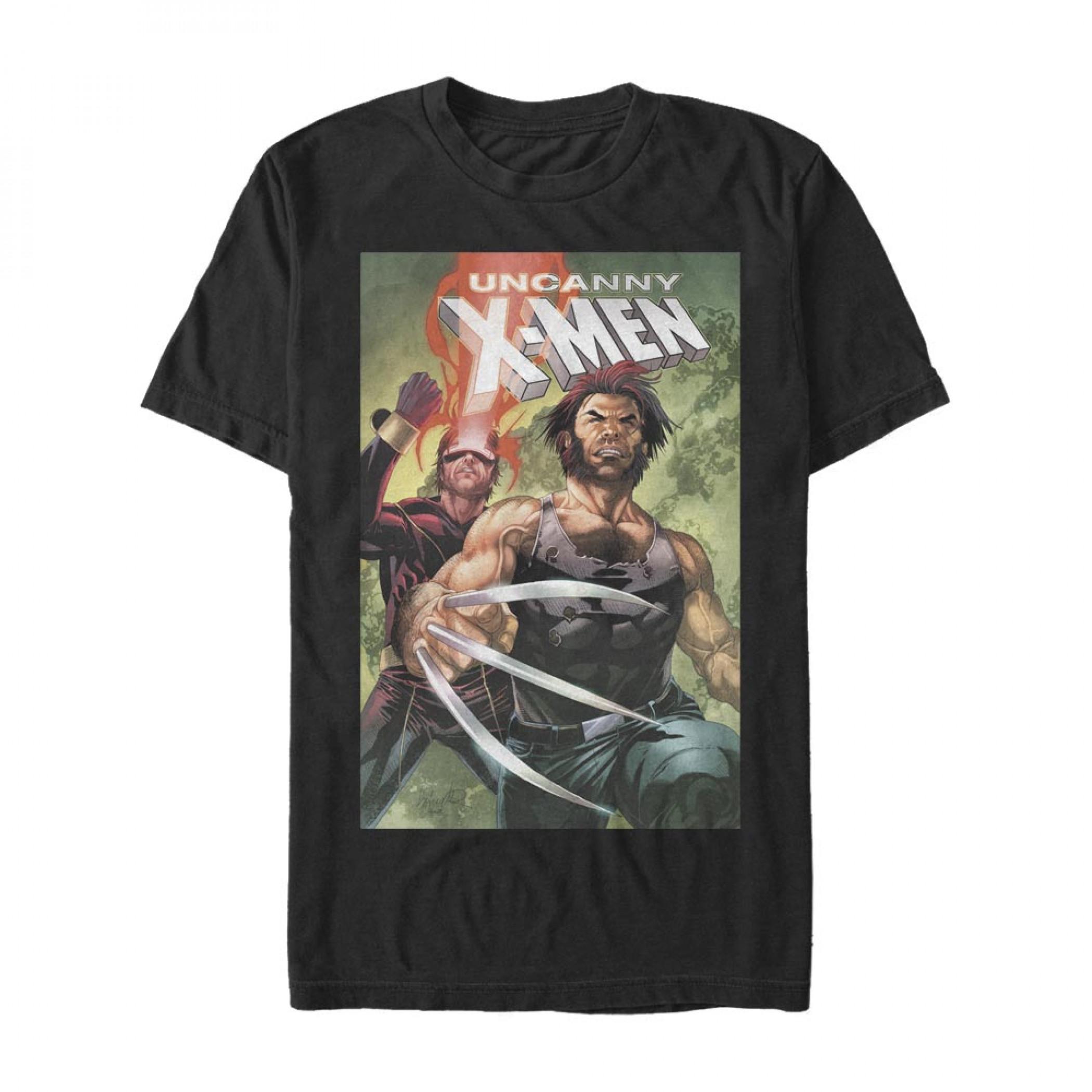X-Men Uncanny Cyclops & Wolverine T-Shirt