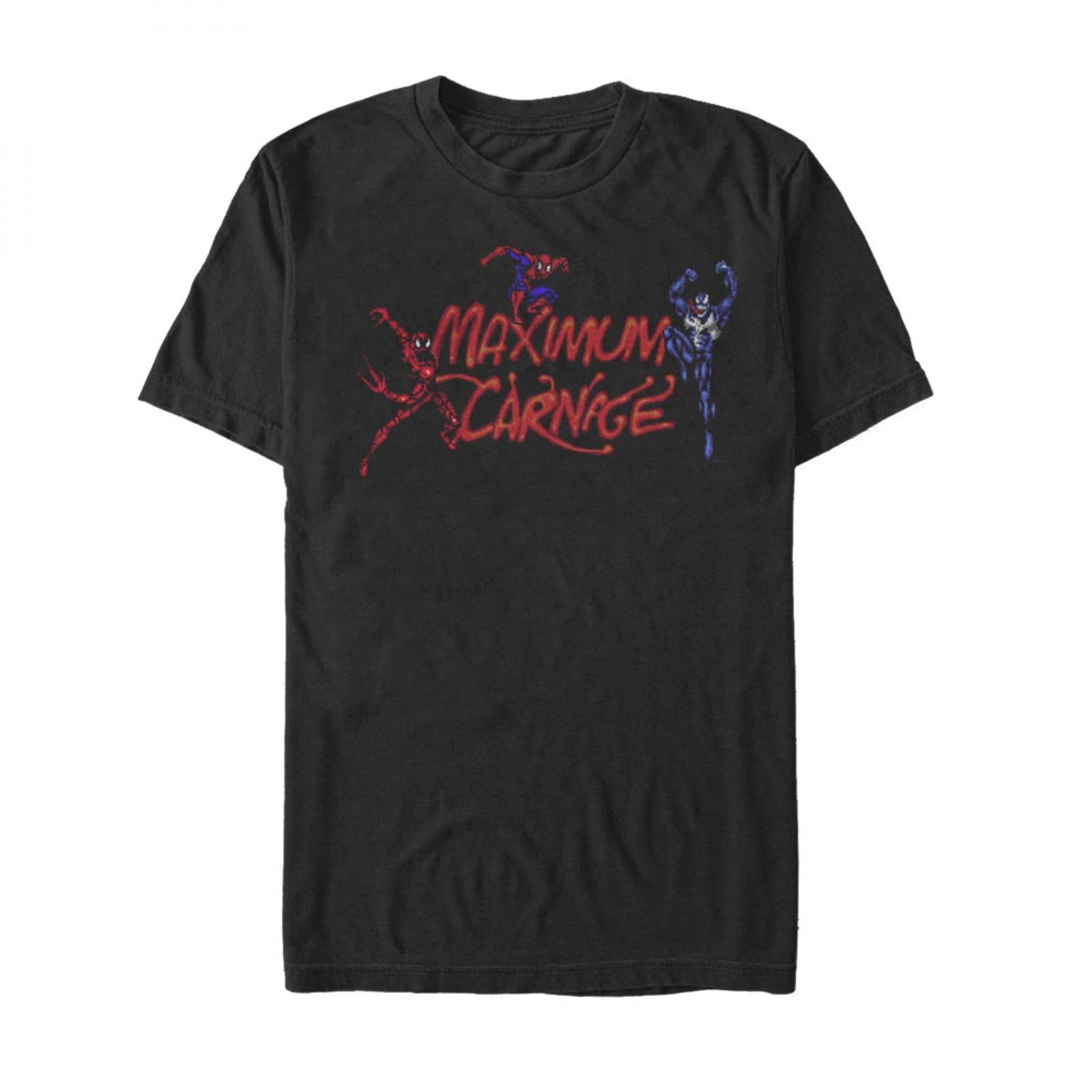 Marvel Maximum Carnage Trio T-Shirt