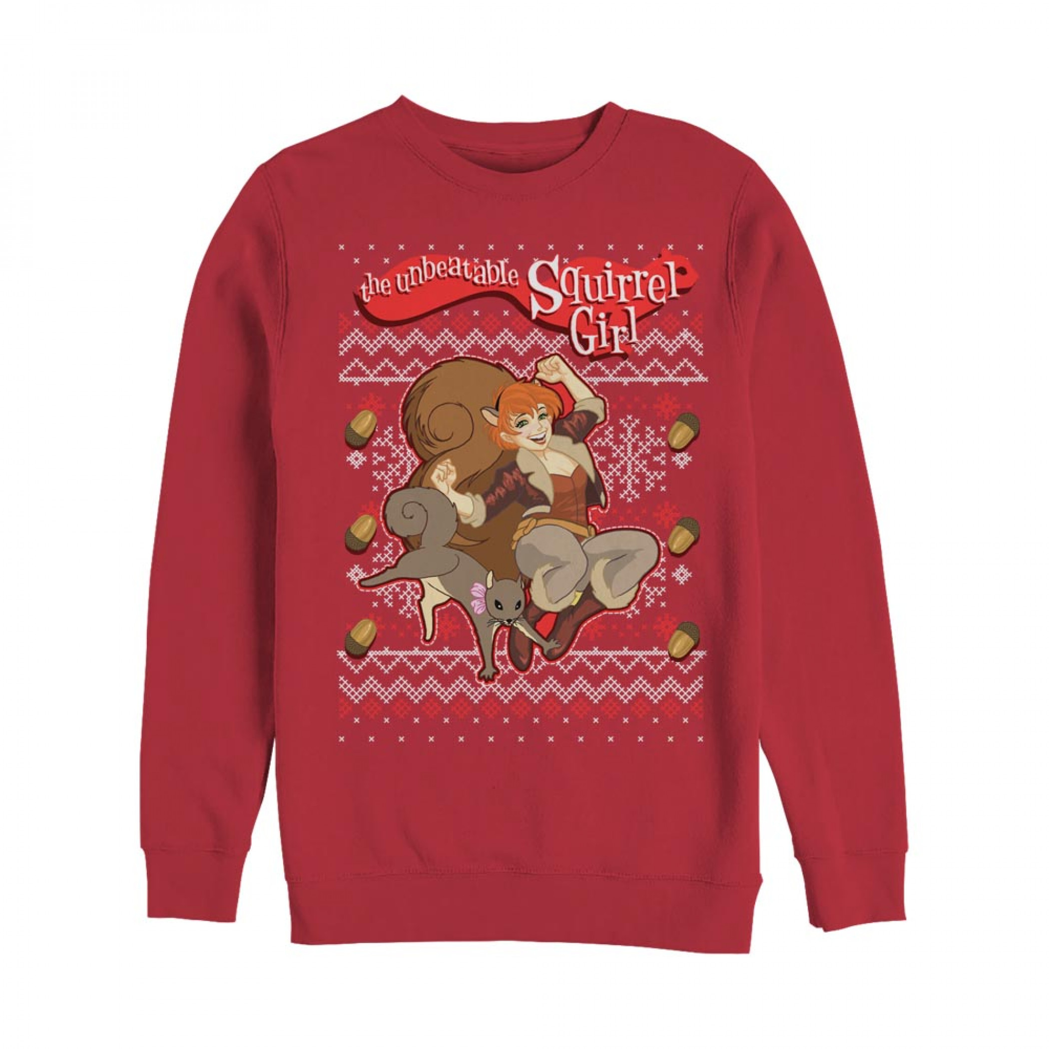 The Unbeatable Squirrel Girl Ugly Christmas Sweatshirt