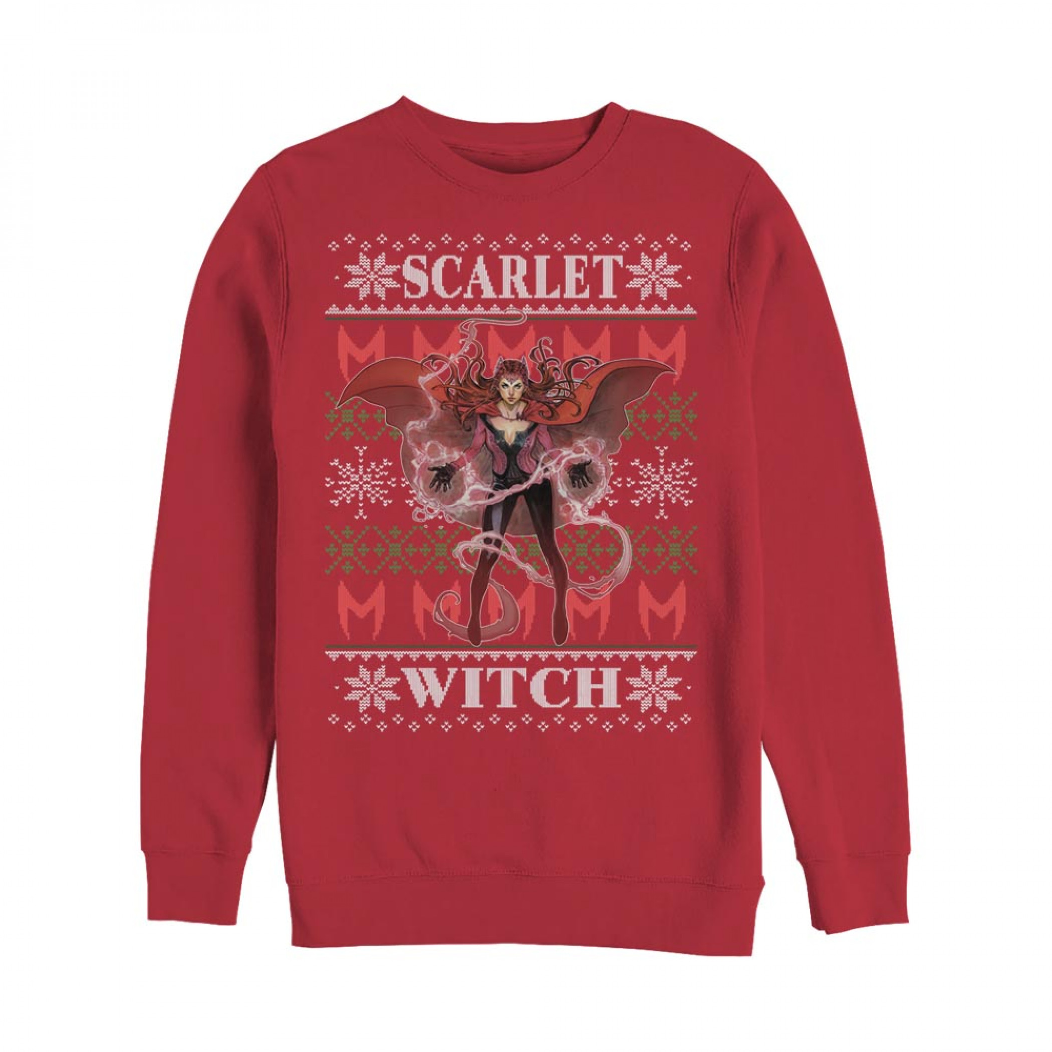 The Scarlet Witch Ugly Christmas Sweatshirt