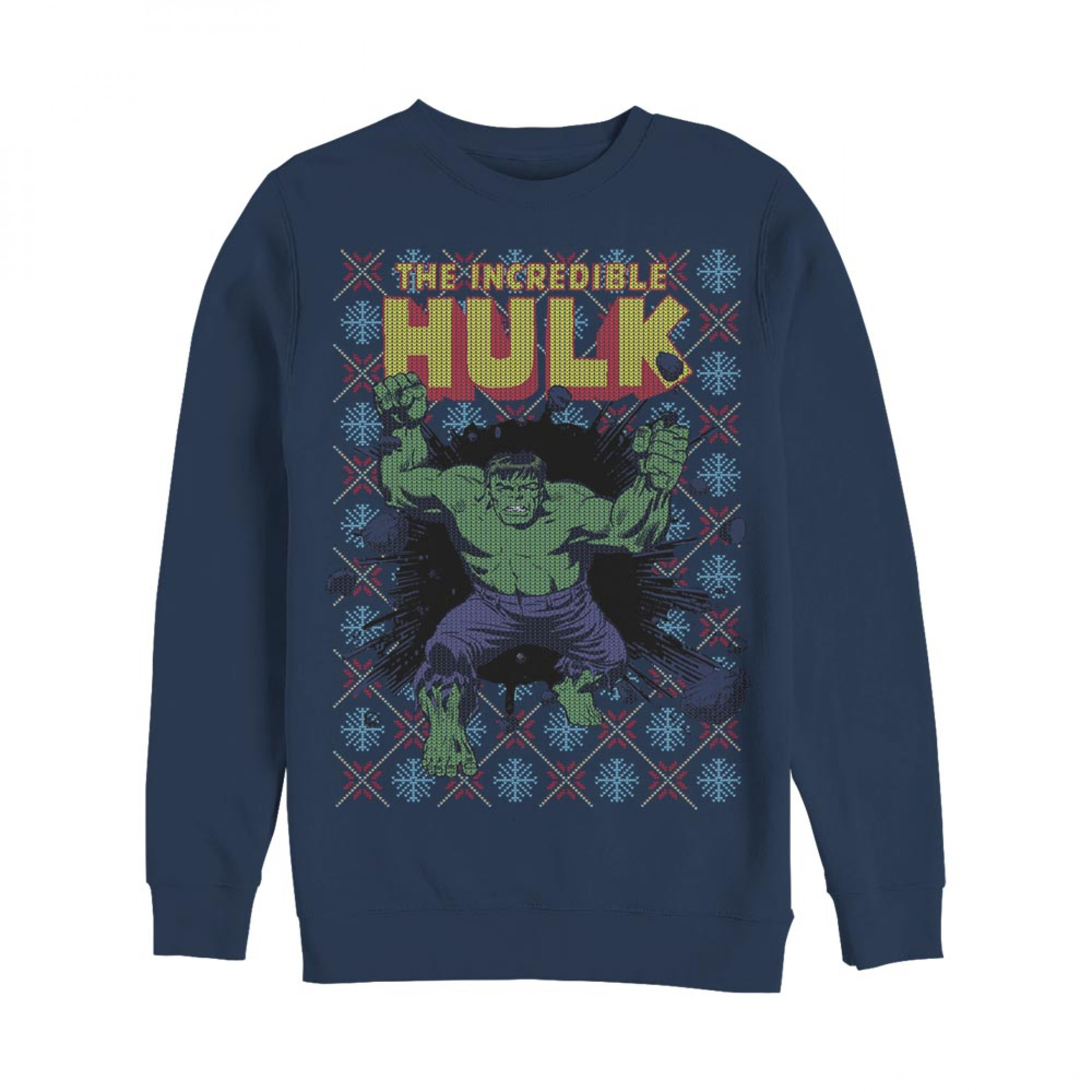 Hulk Ugly Christmas Sweater Design Sweatshirt