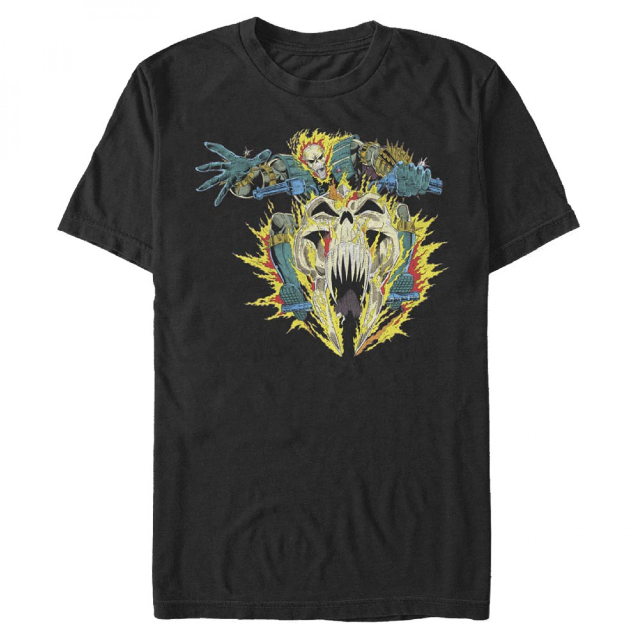 Ghost Rider Vintage Motorcycle T-Shirt