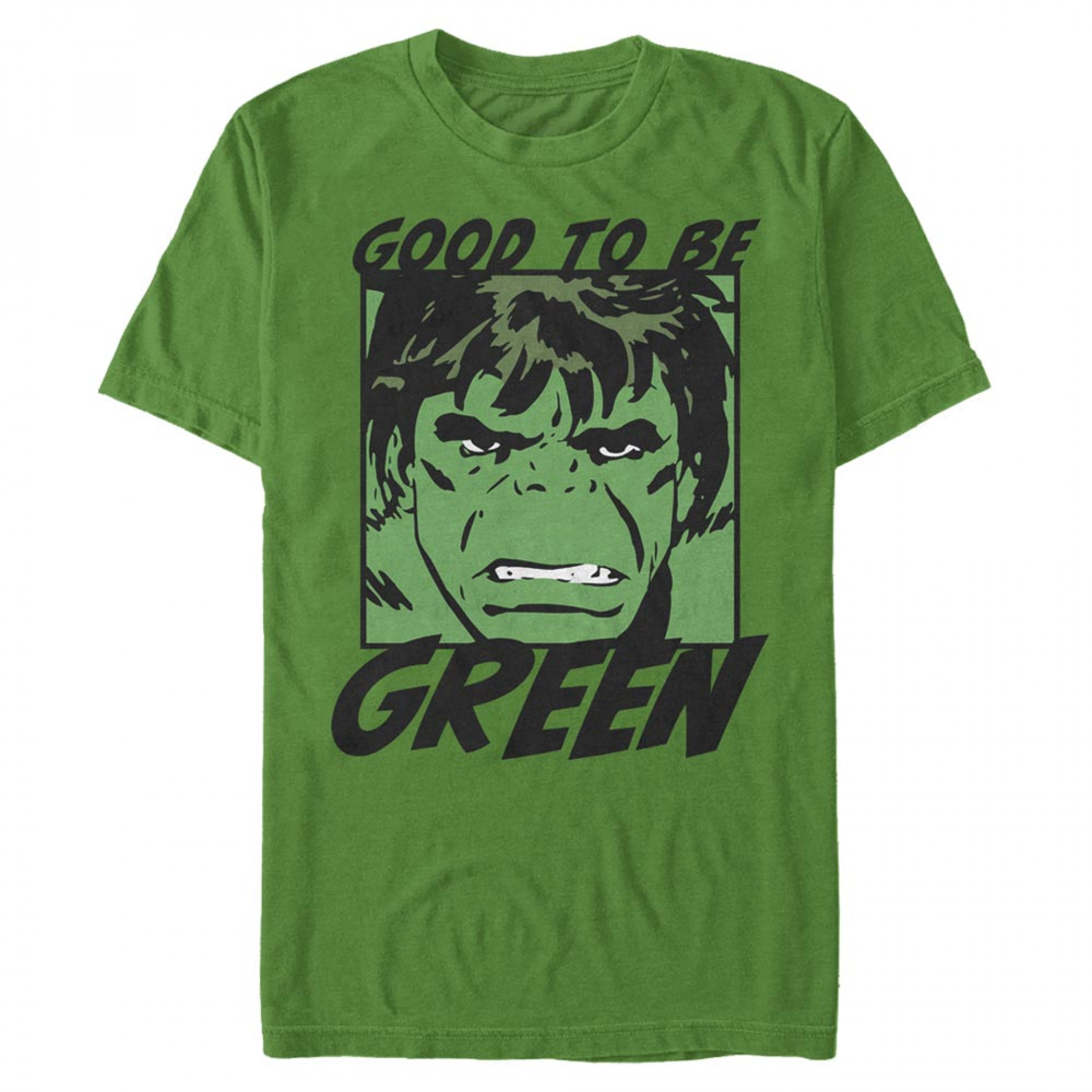 The Incredible Hulk It's Good to Be Green St. Patrick's Day T-Shirt