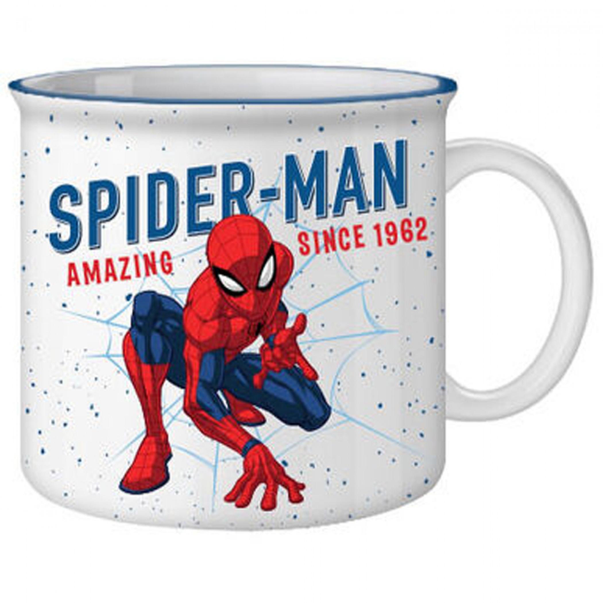 Spider-Man Authentic 1962 20oz Ceramic Camper Mug