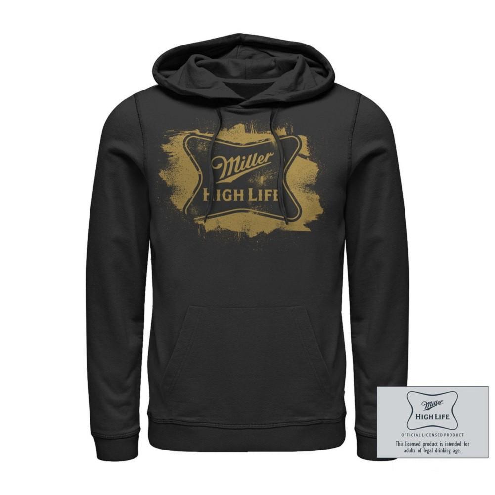 Miller High Life Brushed Logo Hoodie