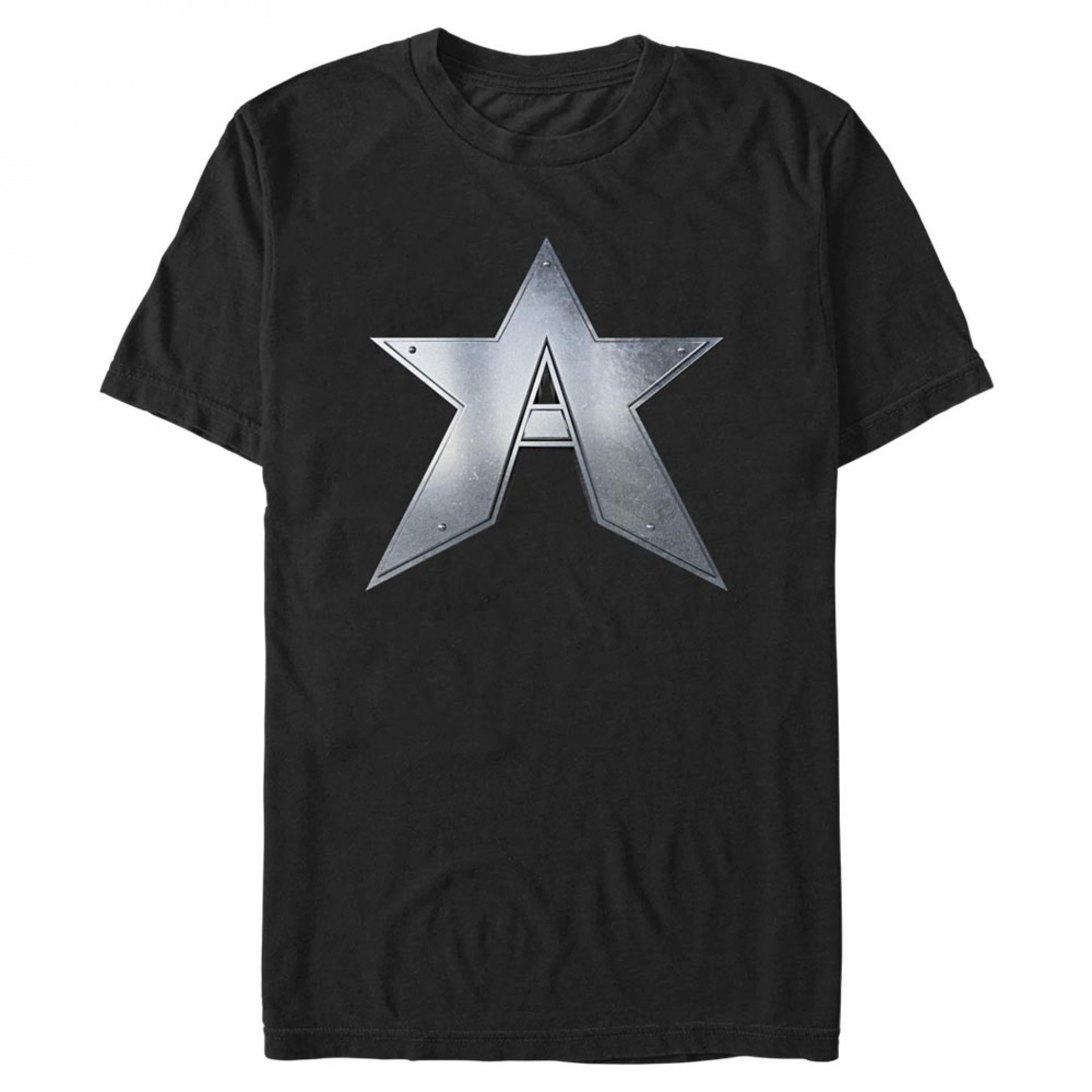 Captain America John Walker Logo T-Shirt