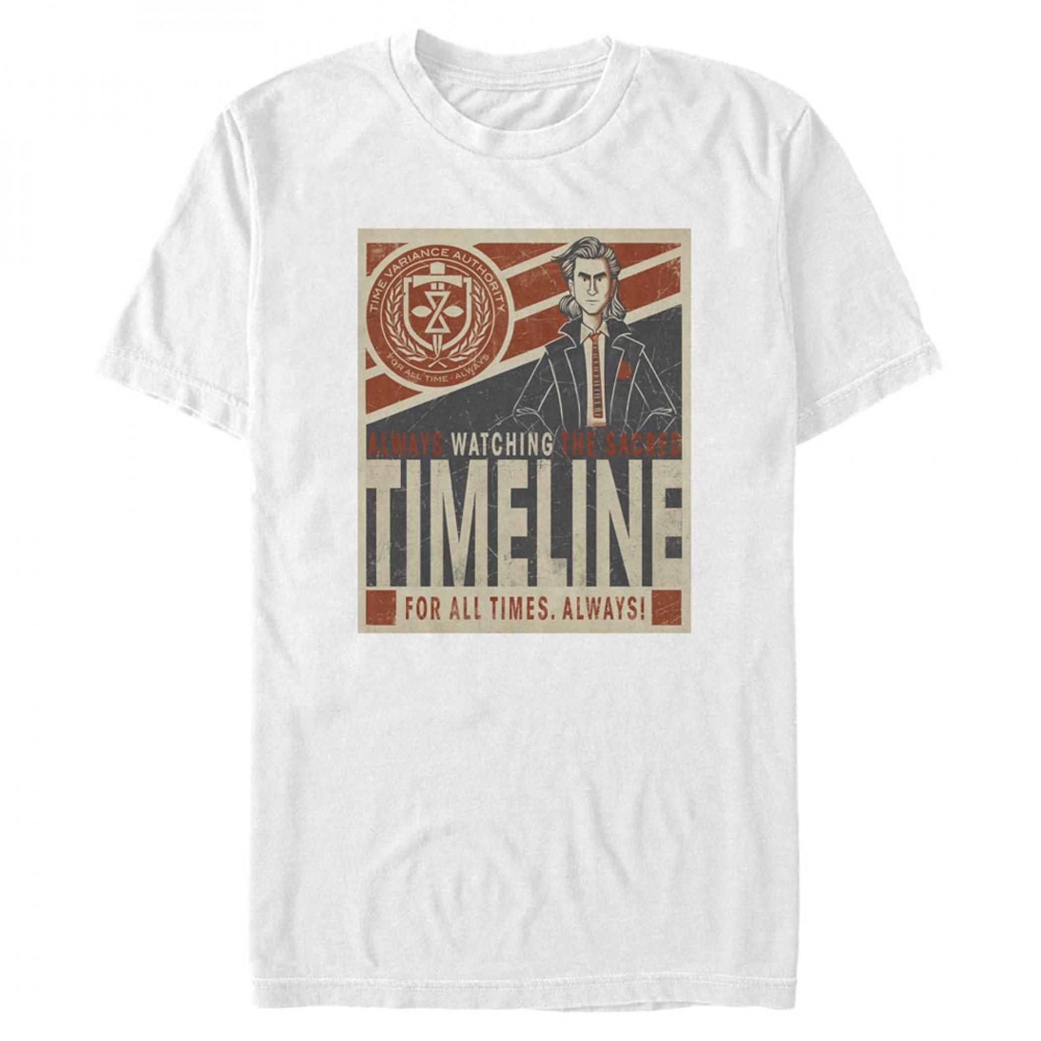 Loki TVA Time Variance Authority Always Watching T-Shirt