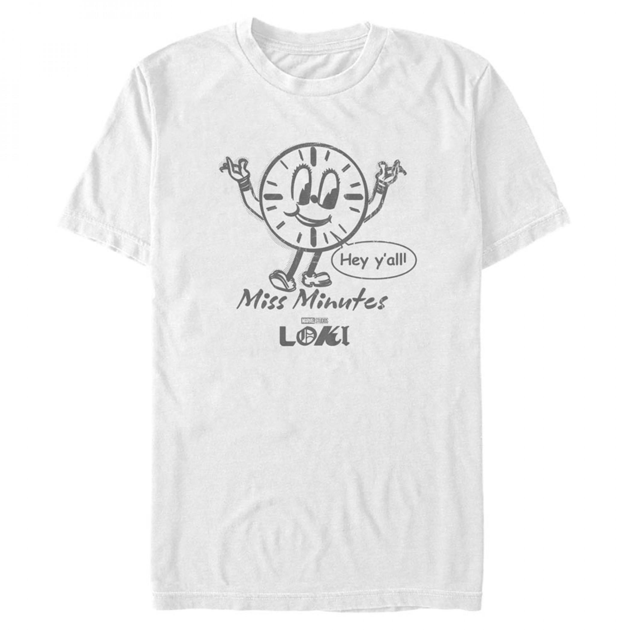 Loki Miss Minutes Clock T-Shirt